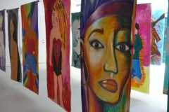 100Women Create exhibition, Tate Liverpool, June 2012