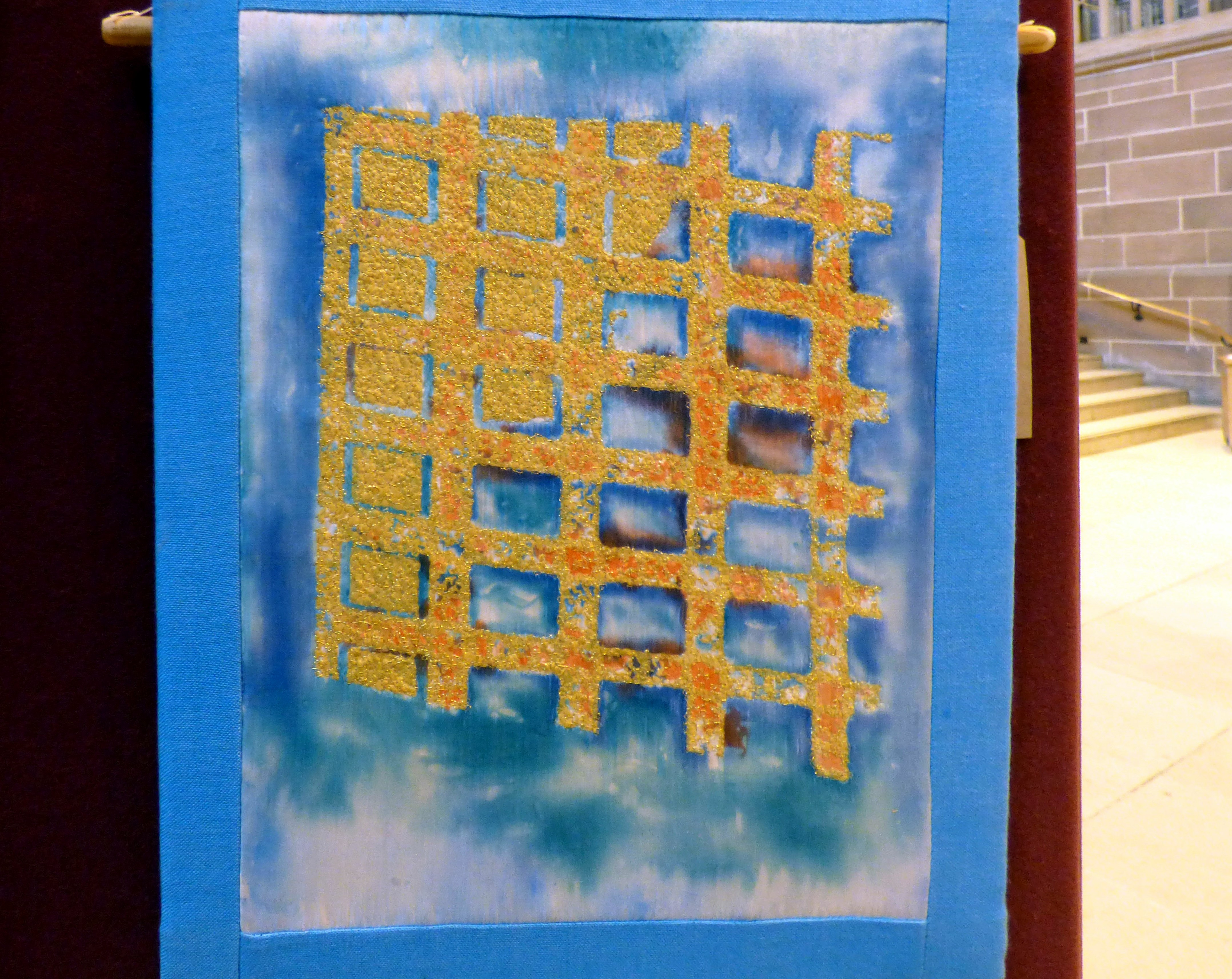 REFLECTIONS by Elsie Watkins at 60 Glorious Years exhibition 2016