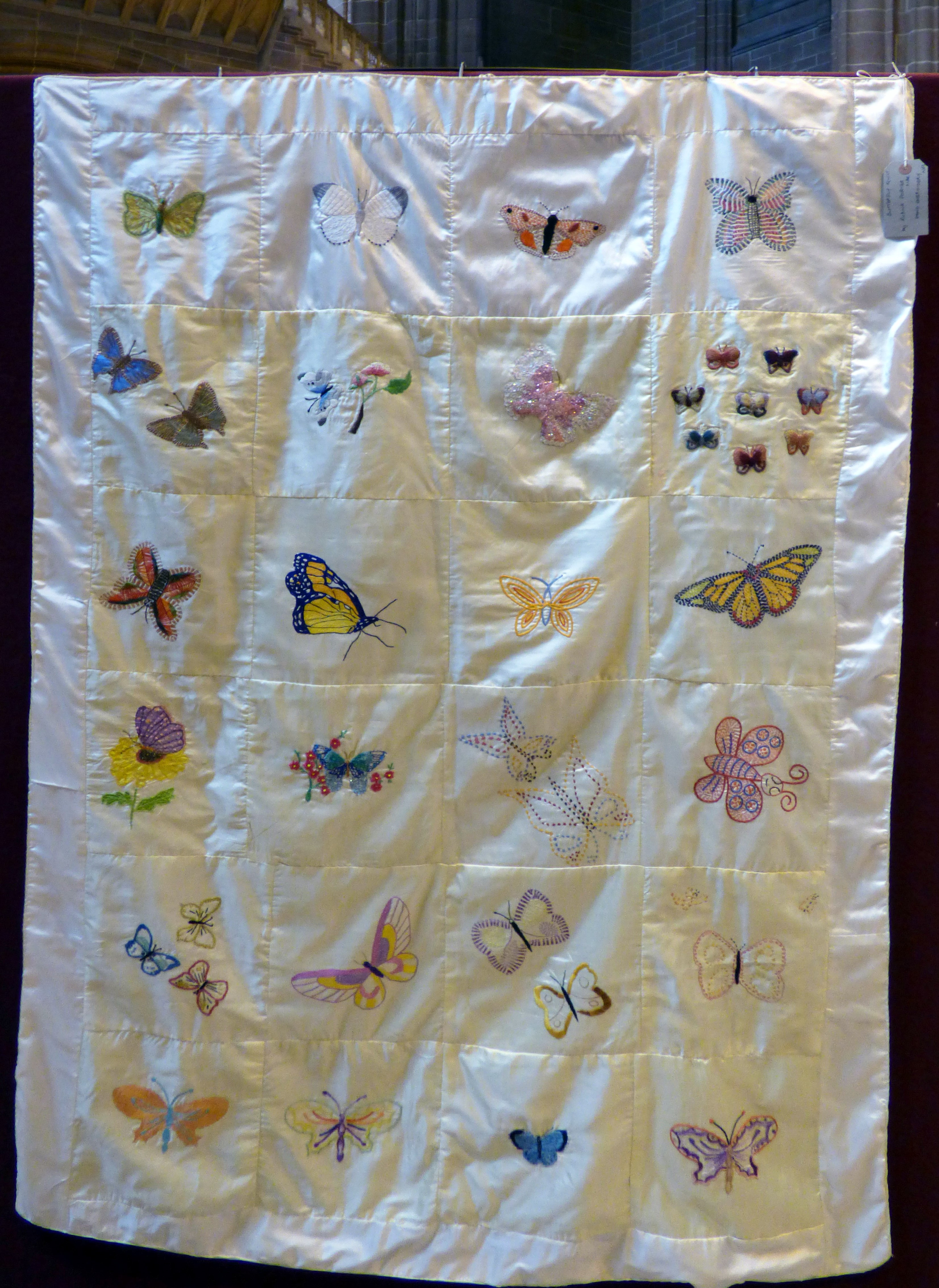 Sreepur BUTTERFLY QUILT at 60 Glorious Years exhibition 2016