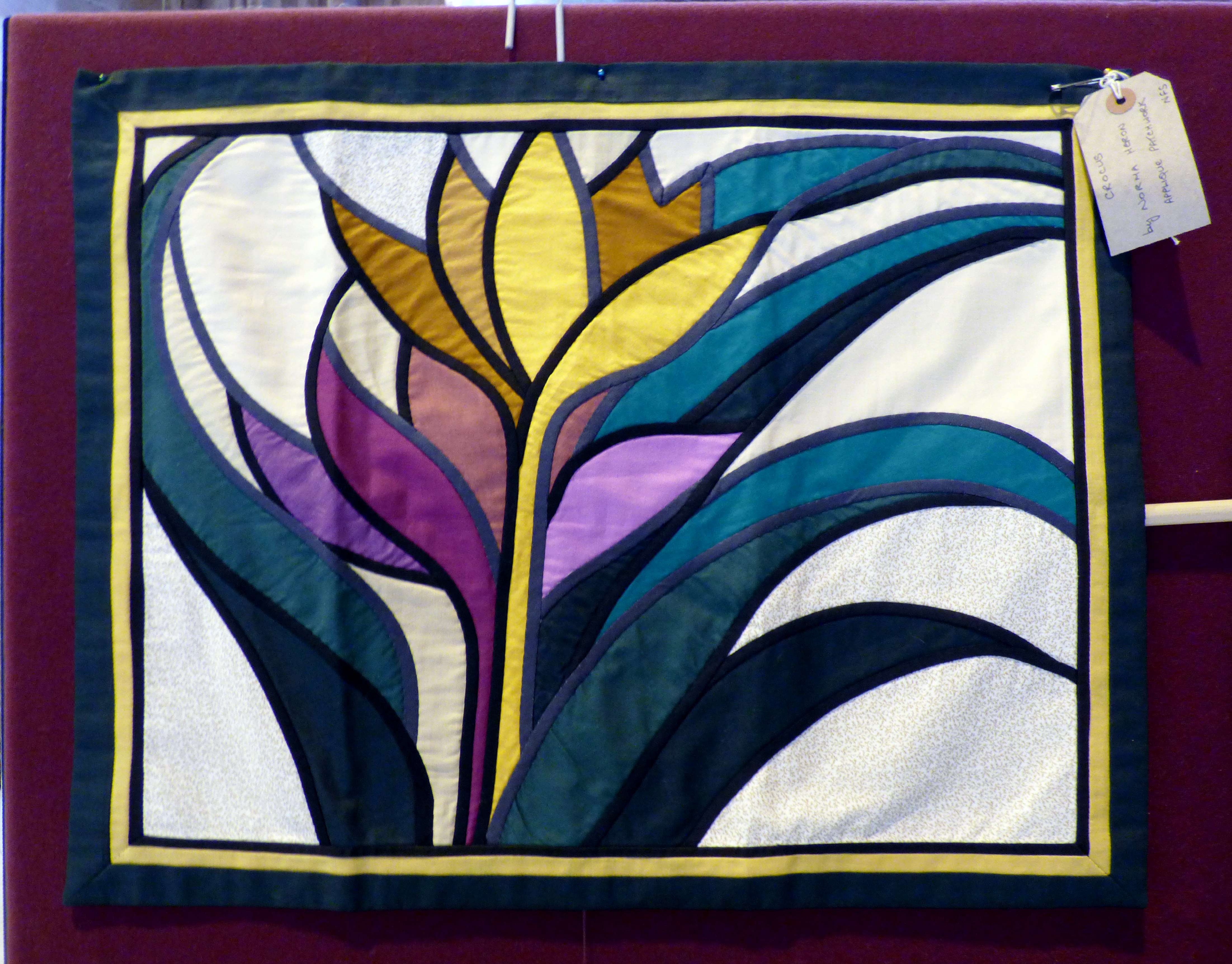 CROCUS by Norma Heron at 60 Glorious Years exhibition 2016