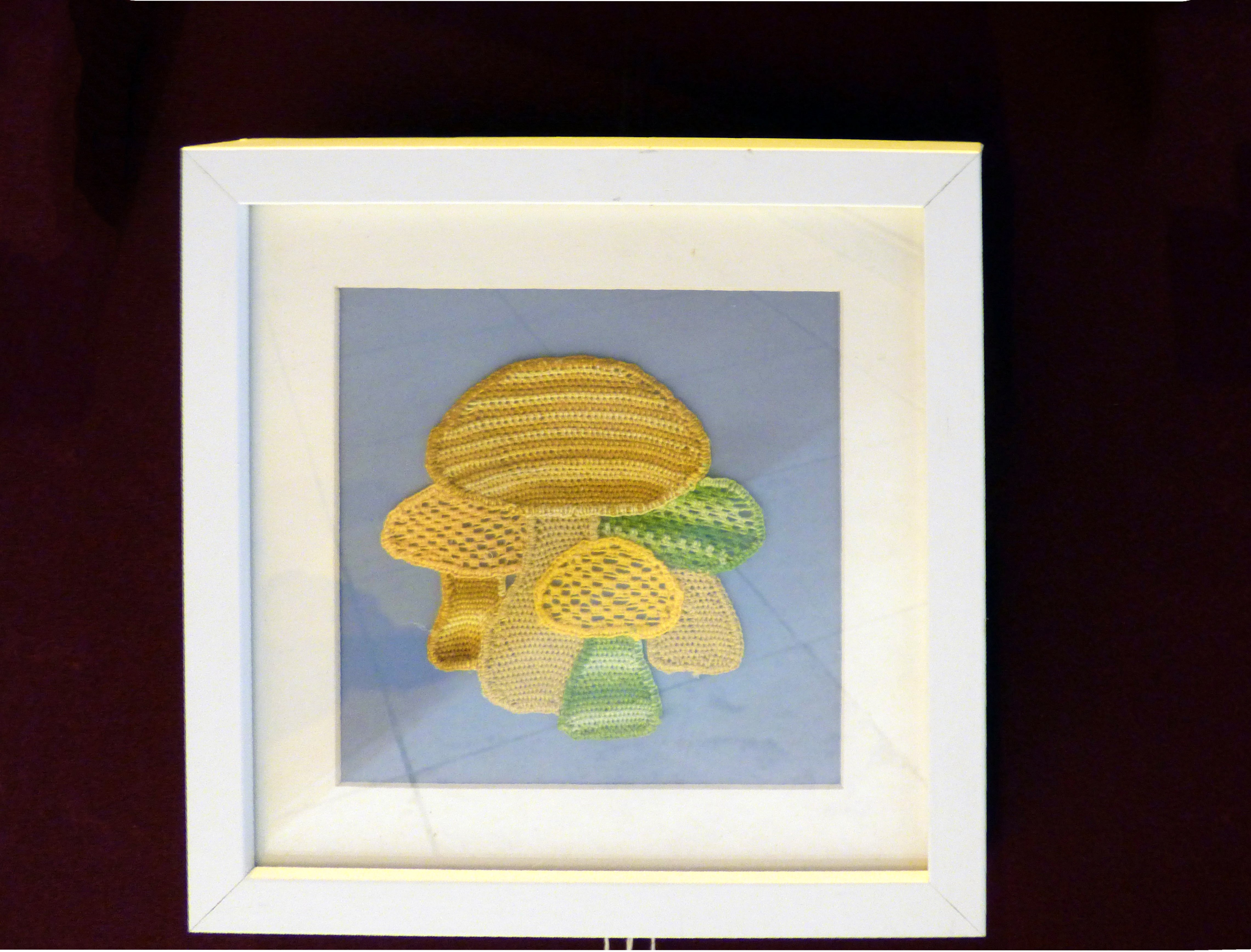 MUSHROOMS by Vicky Williams at 60 Glorious Years exhibition 2016