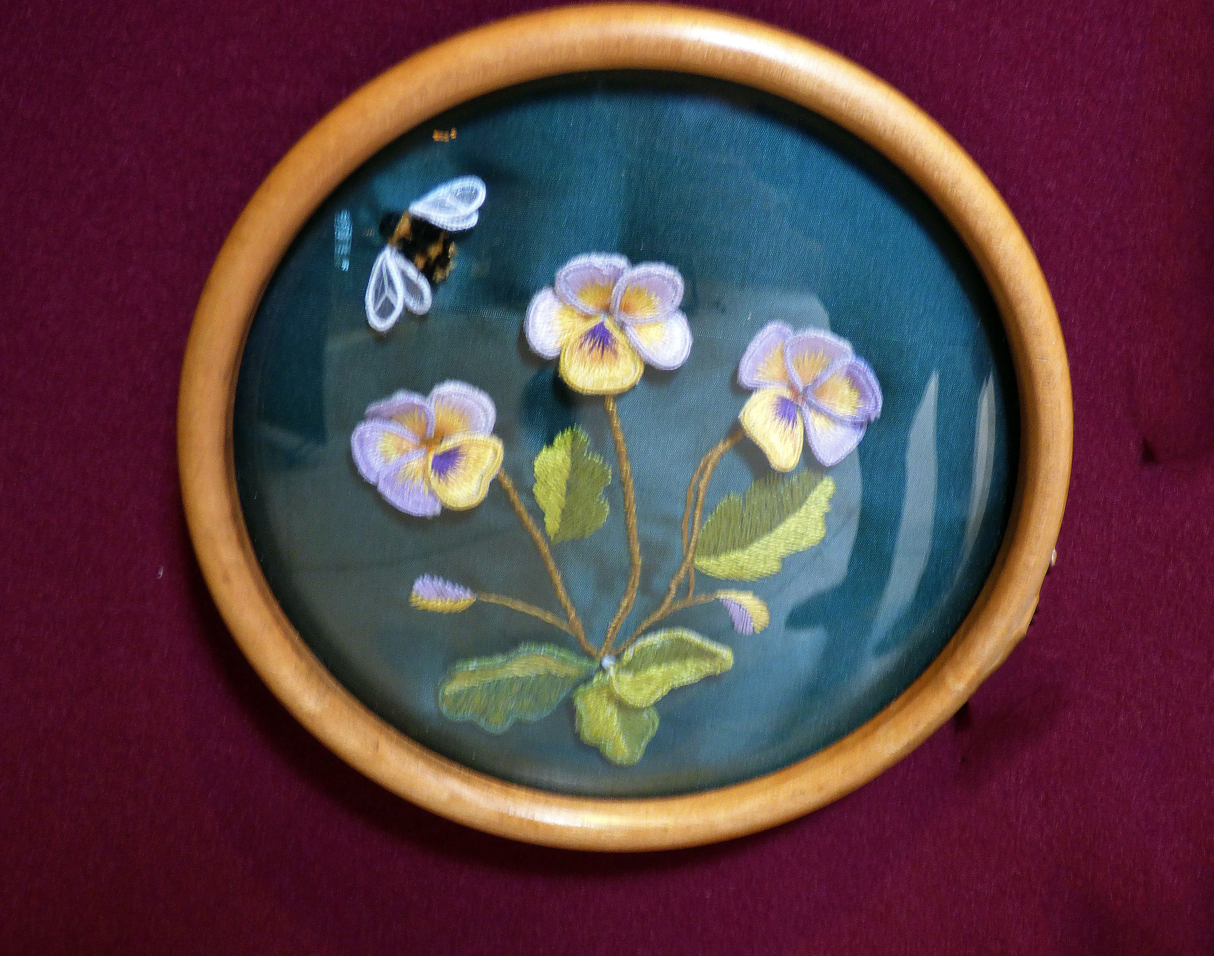 PANSIES by Hilary McCormack at 60 Glorious Years exhibition 2016