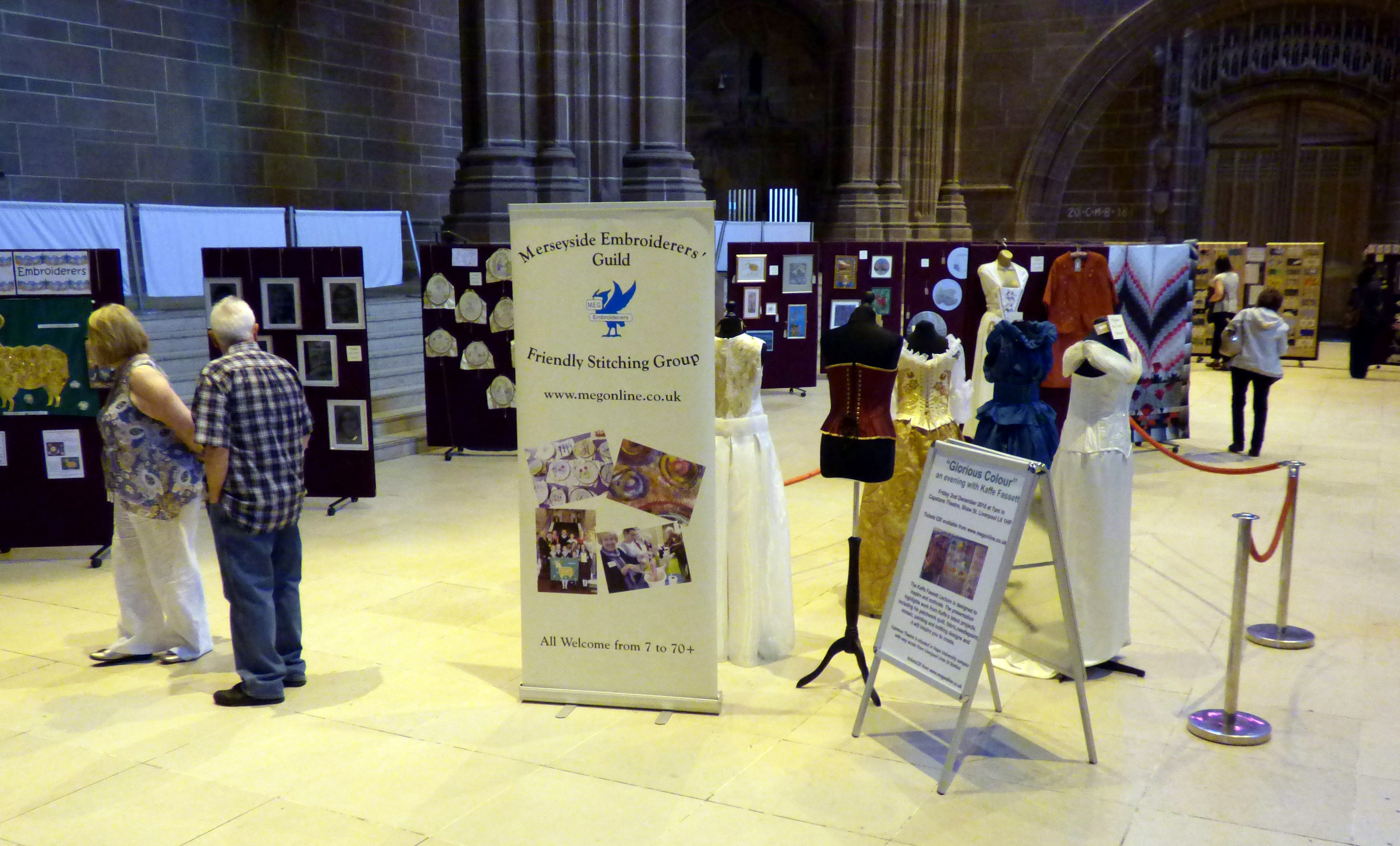 MEG 60 Glorious Years exhibition, May 2016