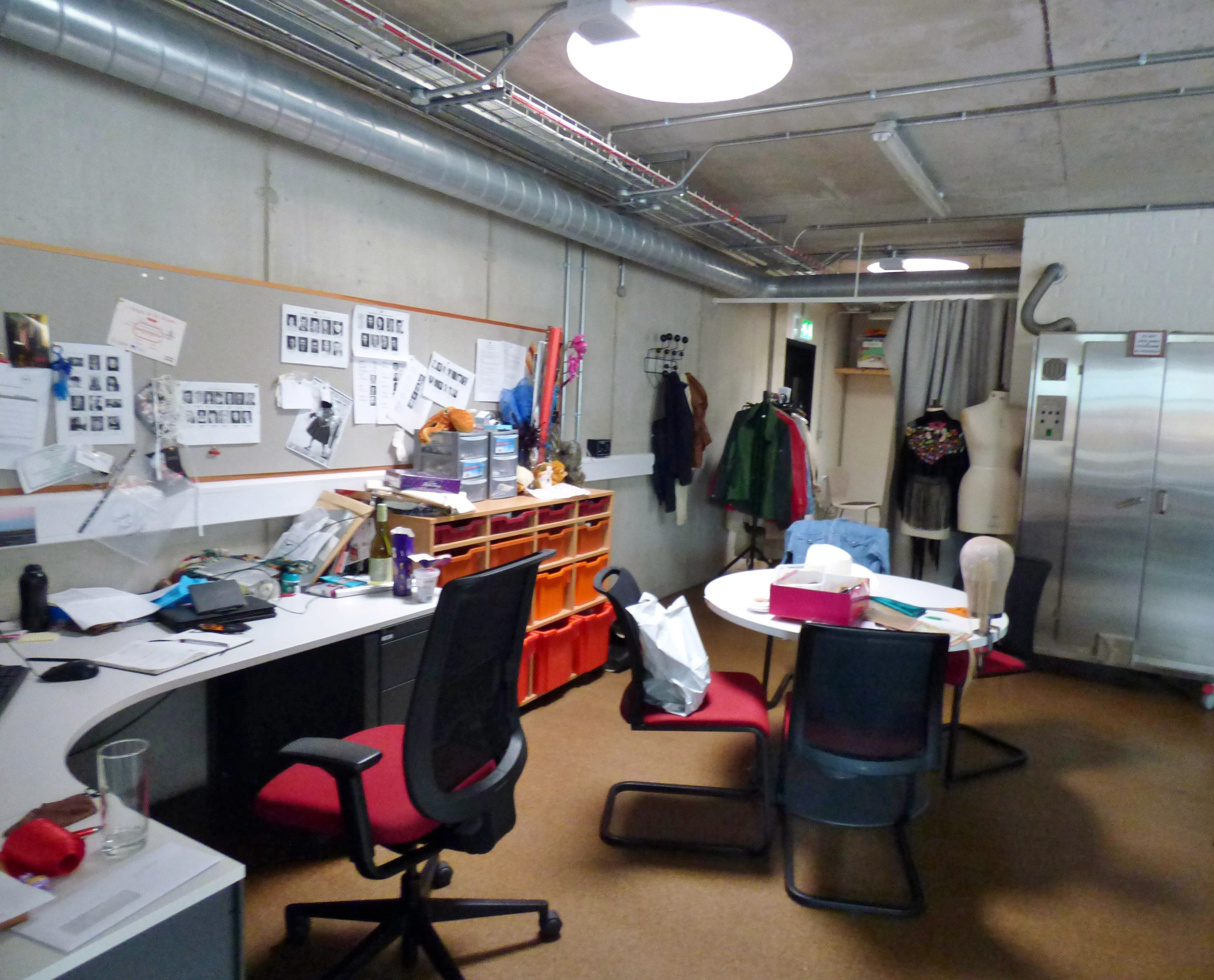 Inside the Costume Dept of Everyman Theatre, Liverpool, July 2016