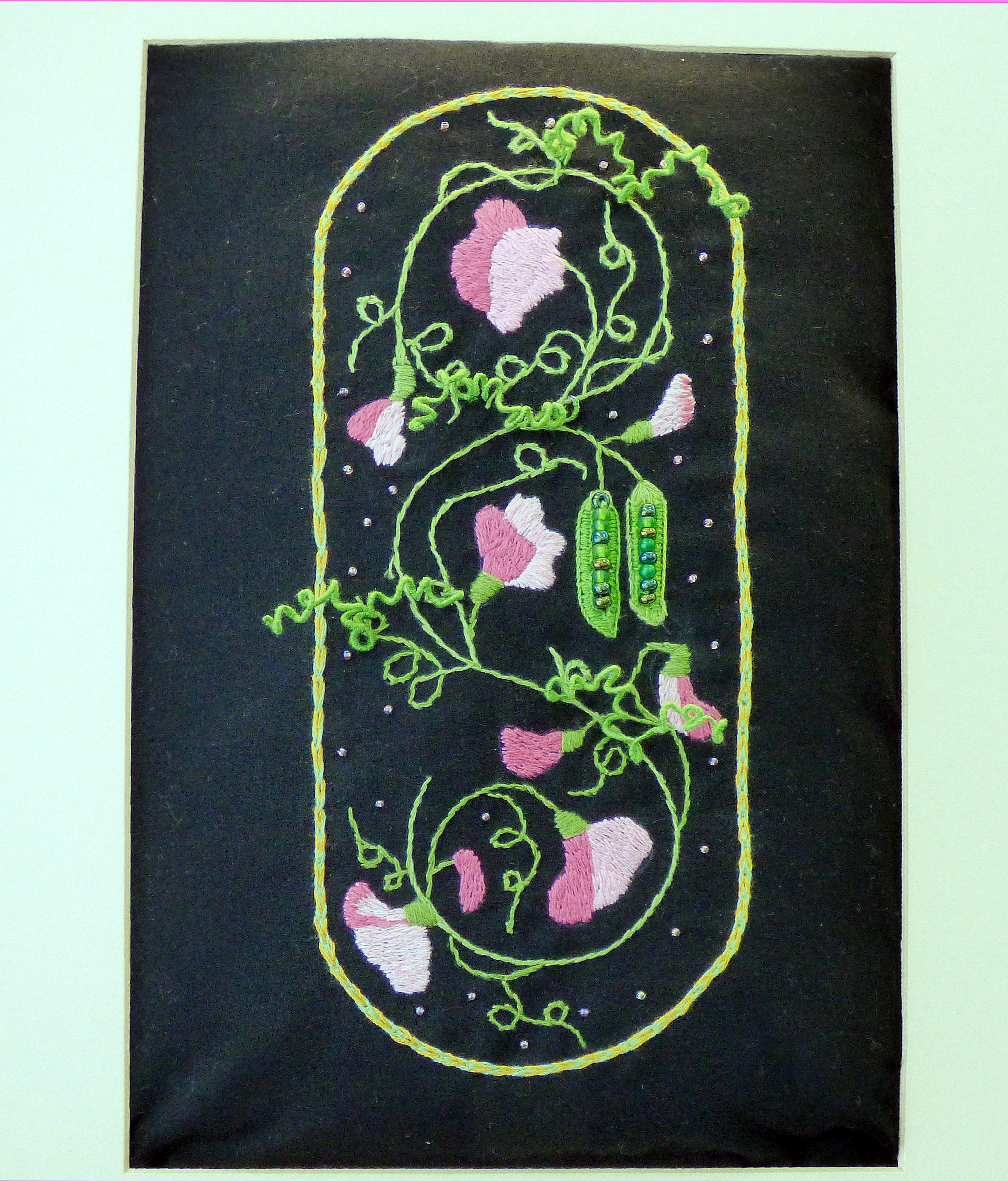 PEA PODS by Anne Heaton, Parbold EG