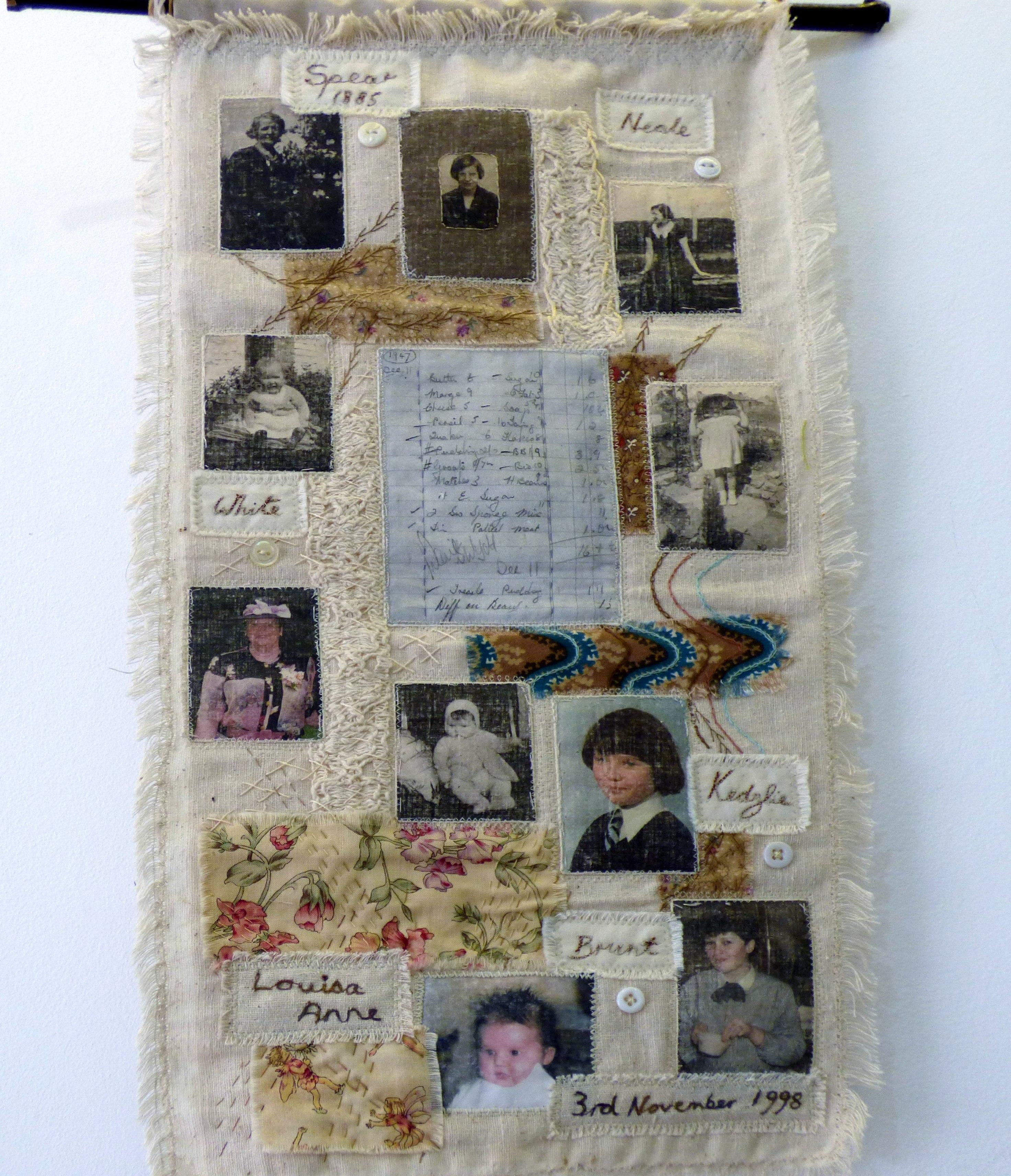 FIVE GENERATIONS by Sandra Kedzlie, Parbold EG
