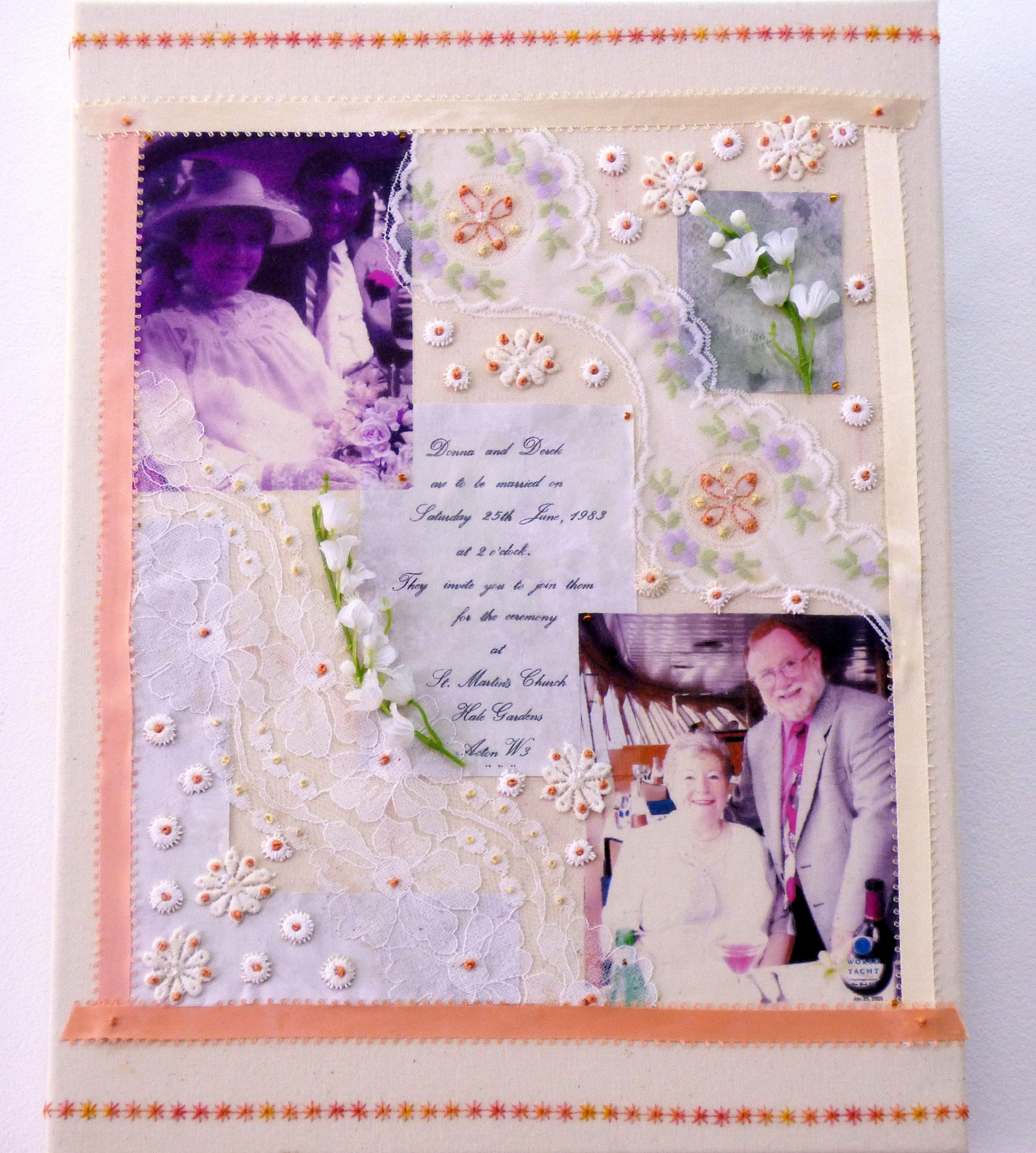WEDDING MEMORIES by Donna Eaton, Parbold EG