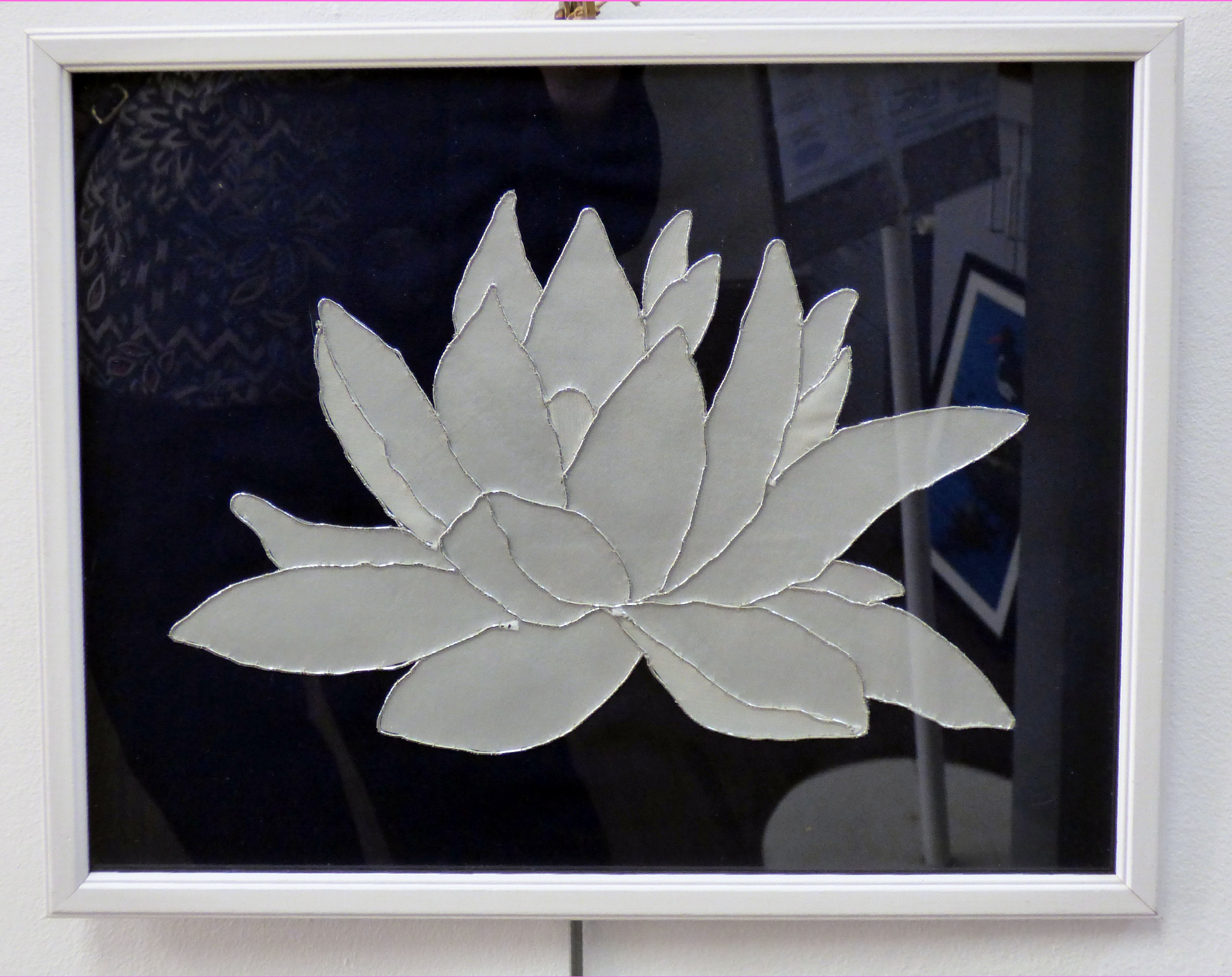 WATER LILY by Anne Heaton, Parbold EG