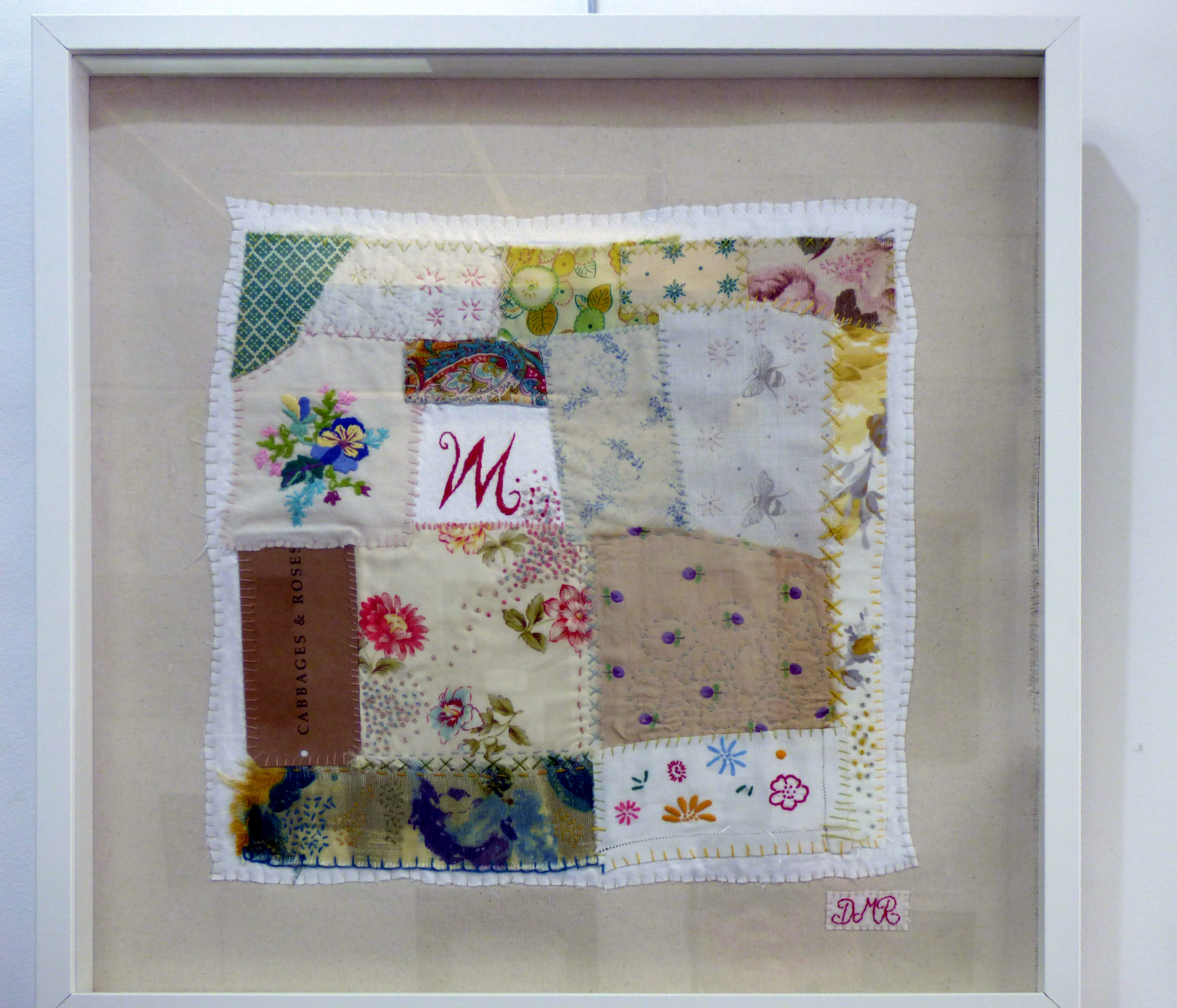 'M' FOR MOTHER by Deborah McLarnon-Riches, Parbold EG