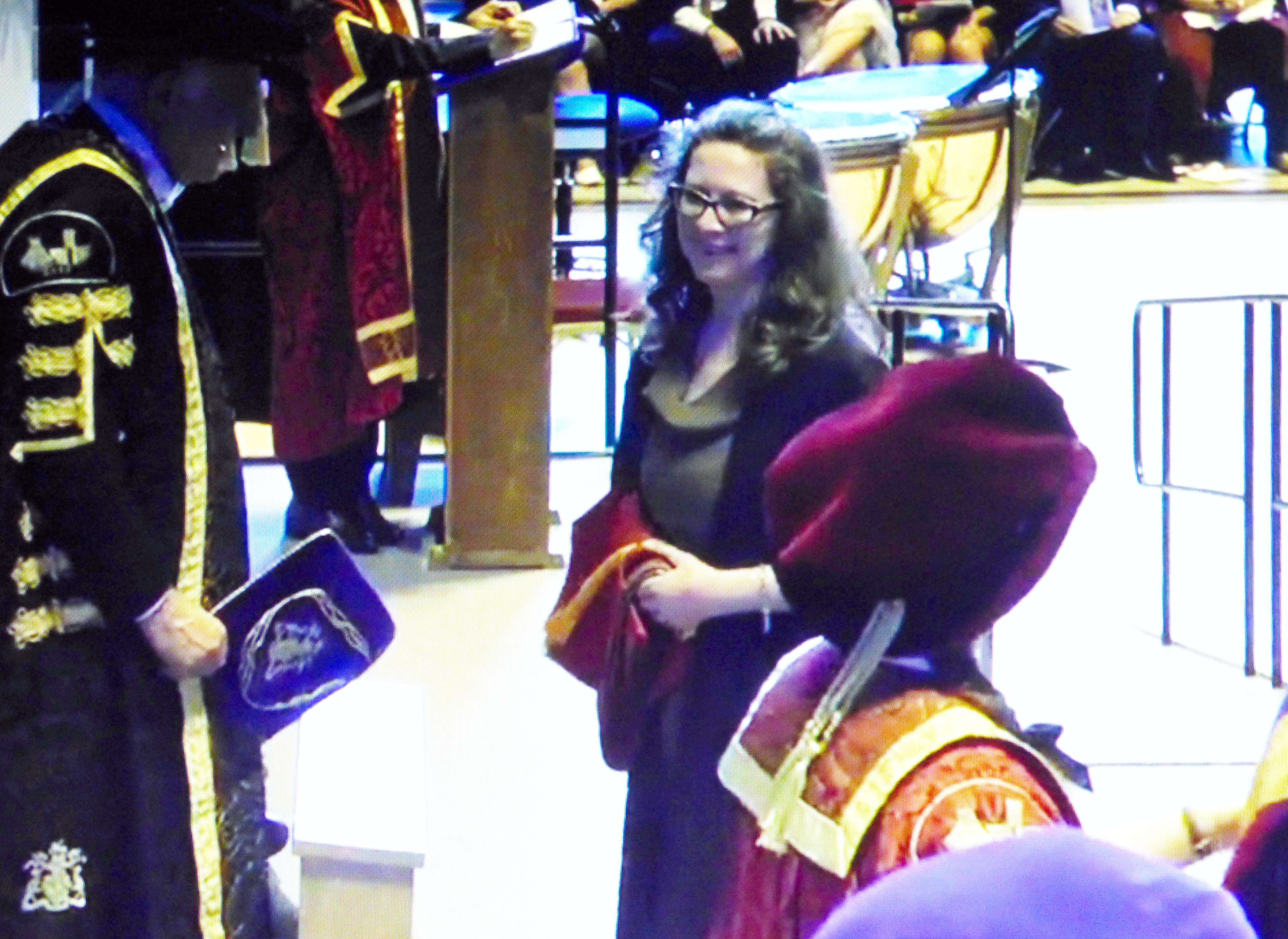 Karen Scott's Degree Ceremony in Liverpool Anglican Cathedral, July 2016