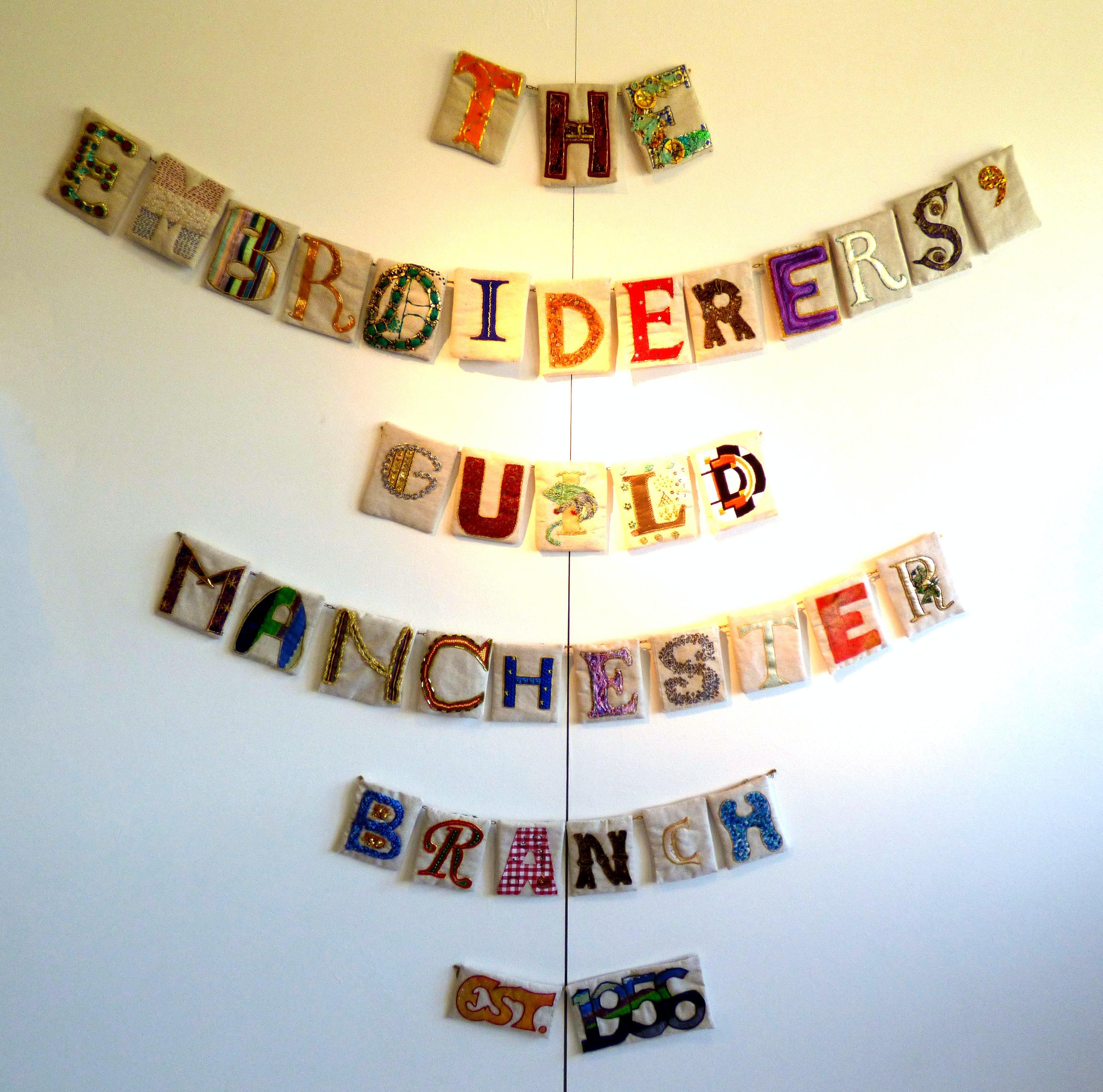Manchester EG branch letters, group work, 2006