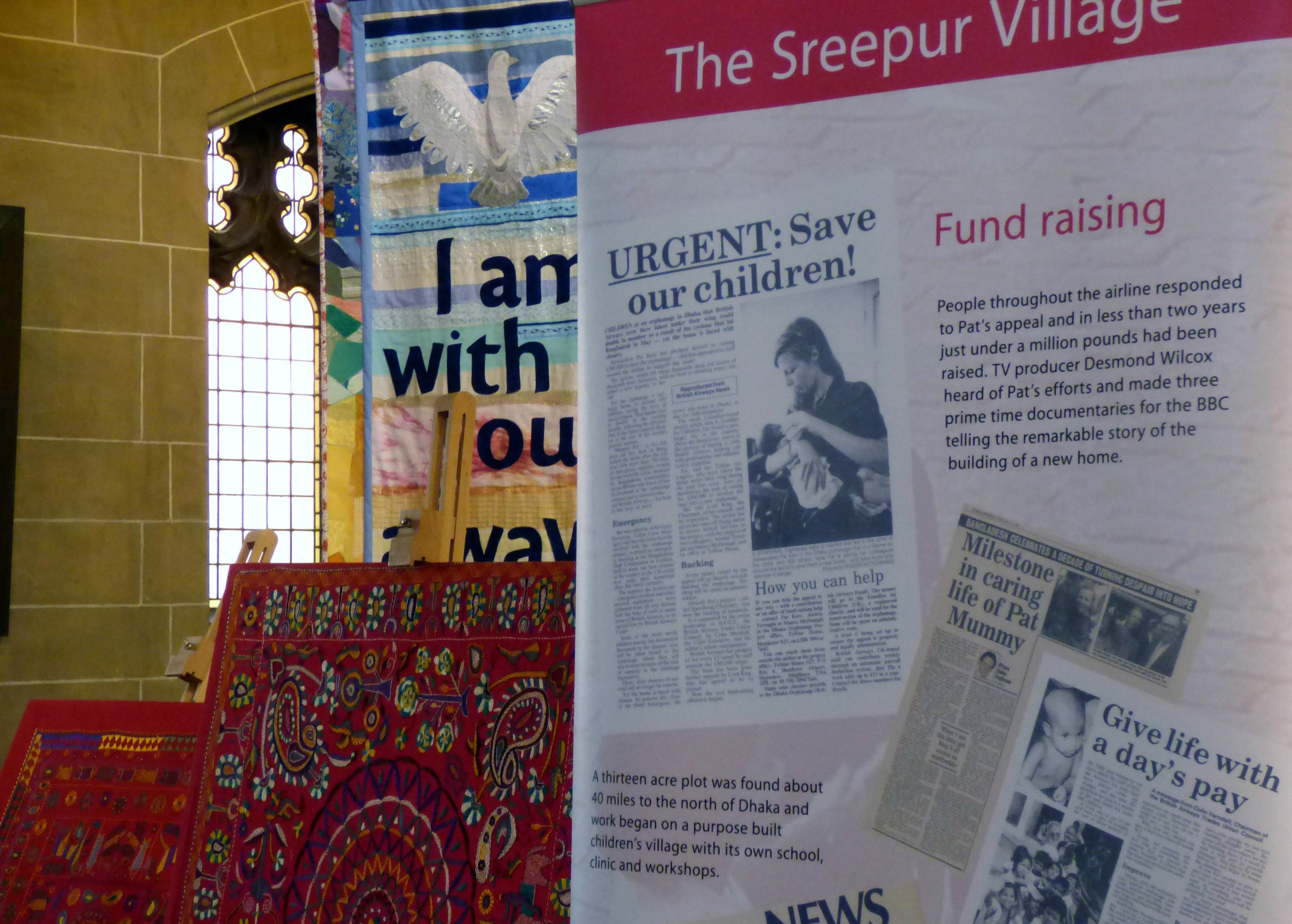 Sreepur stall in St Barnabus, April 2016