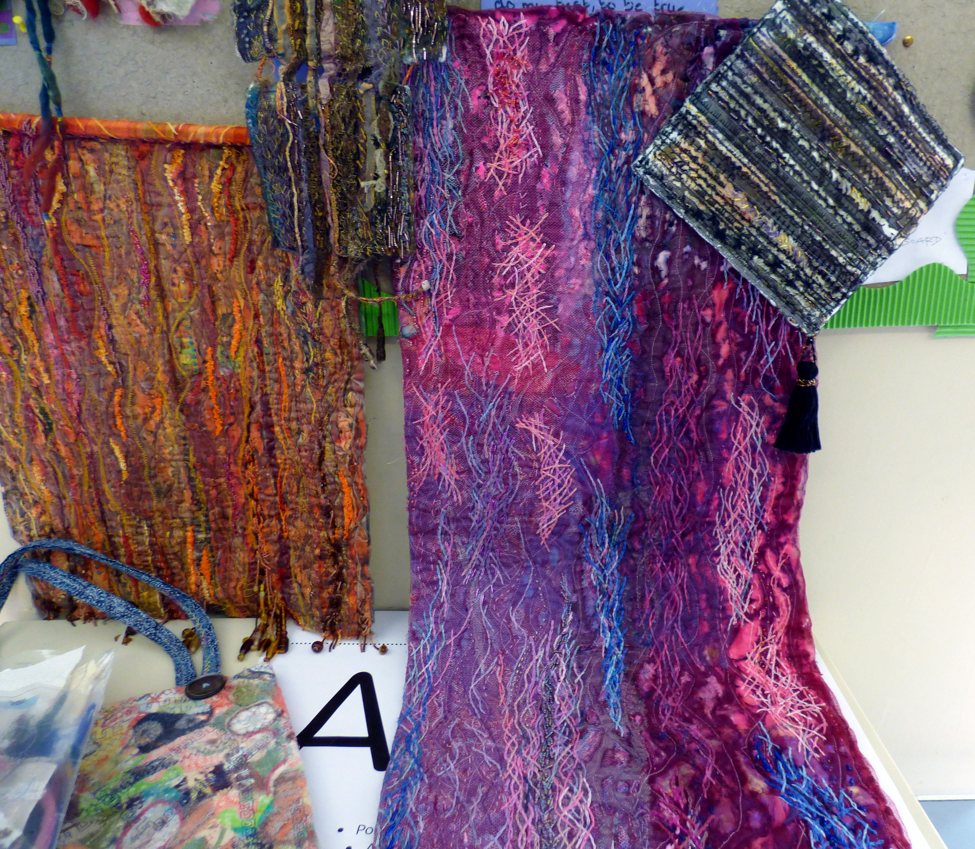 embroideries by Catherine Leighton, Macclesfield EG