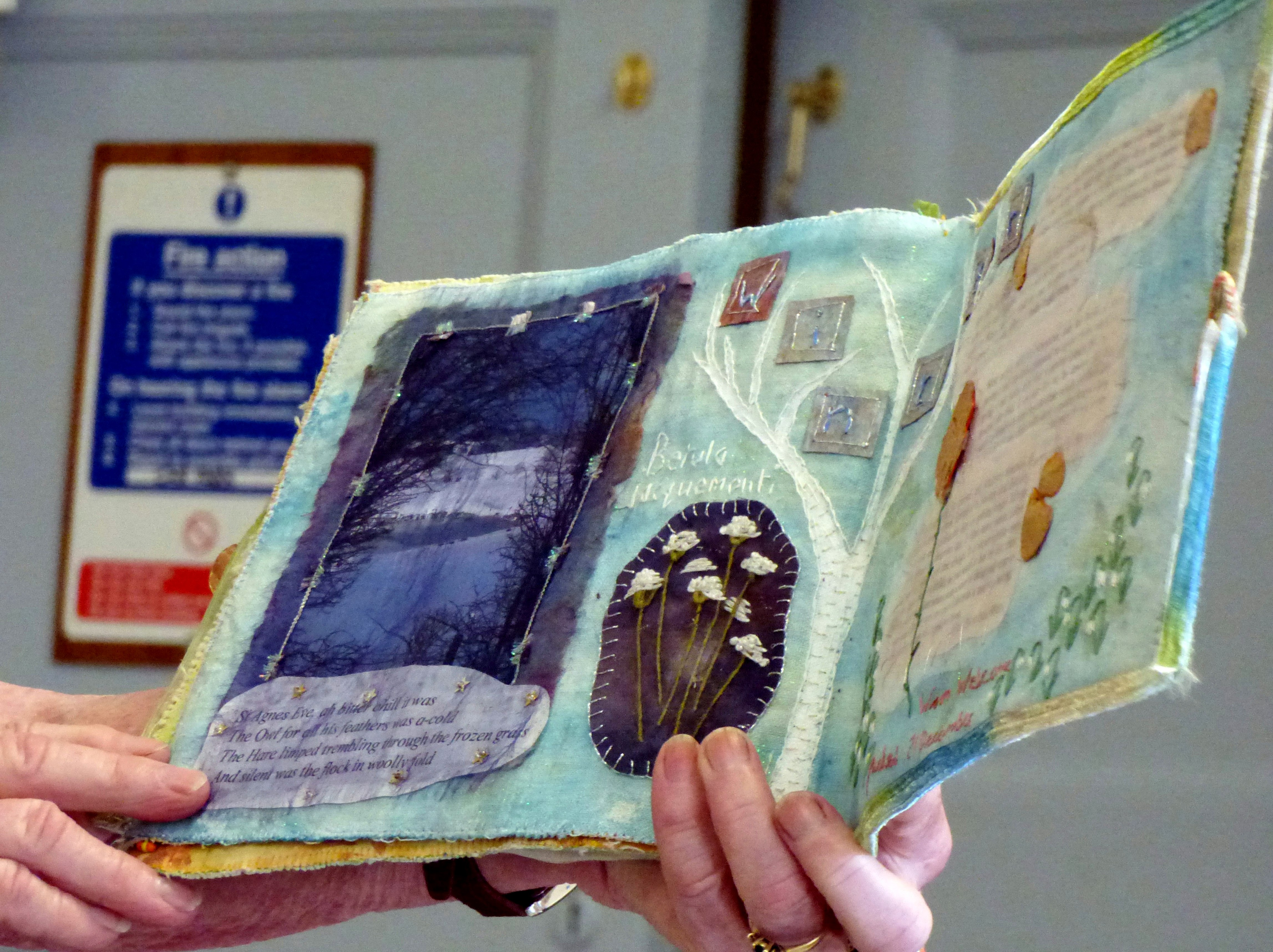 GARDENS textile journal by Chris Harris
