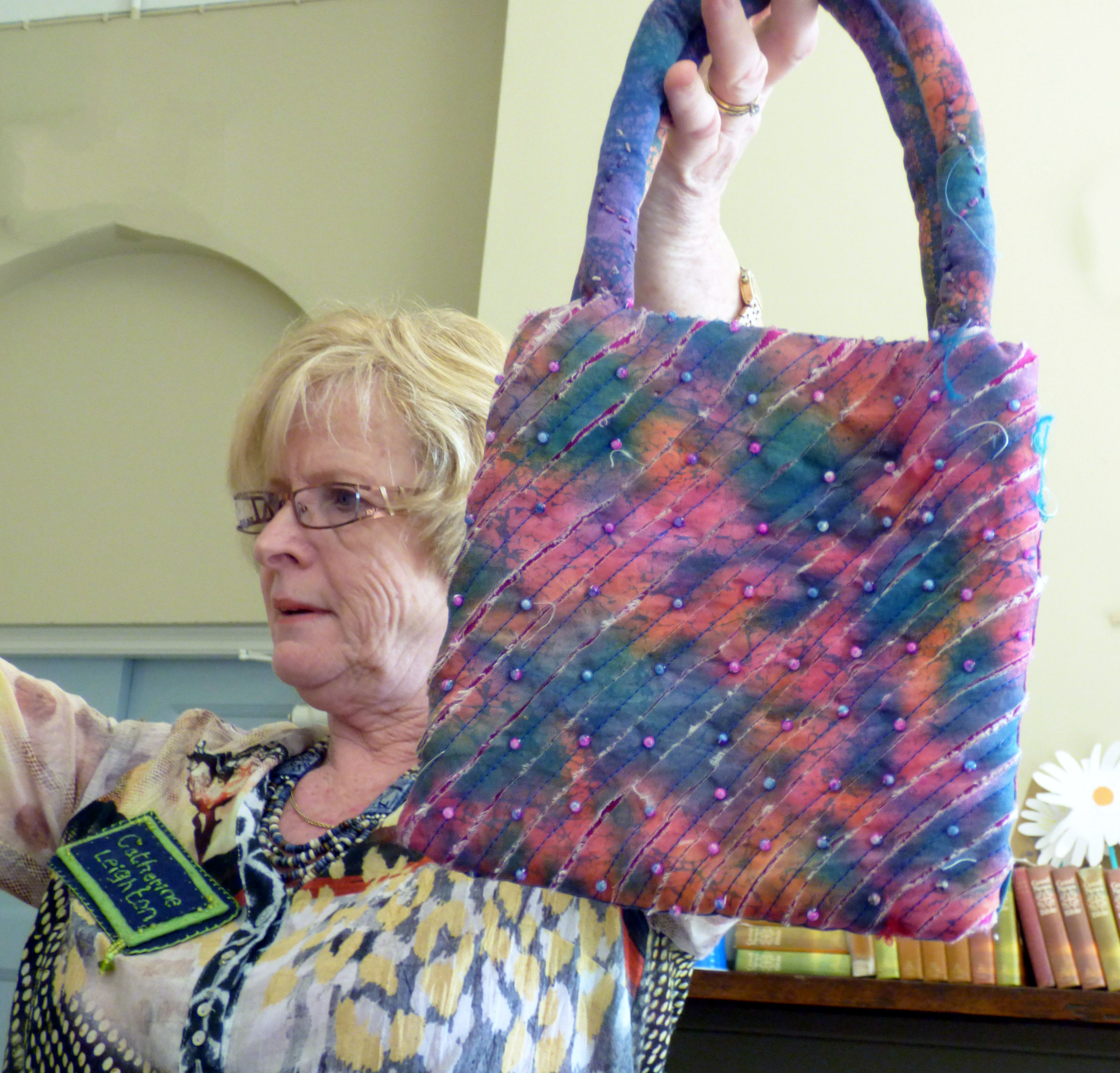 BAG by Catherine Leighton using African textiles