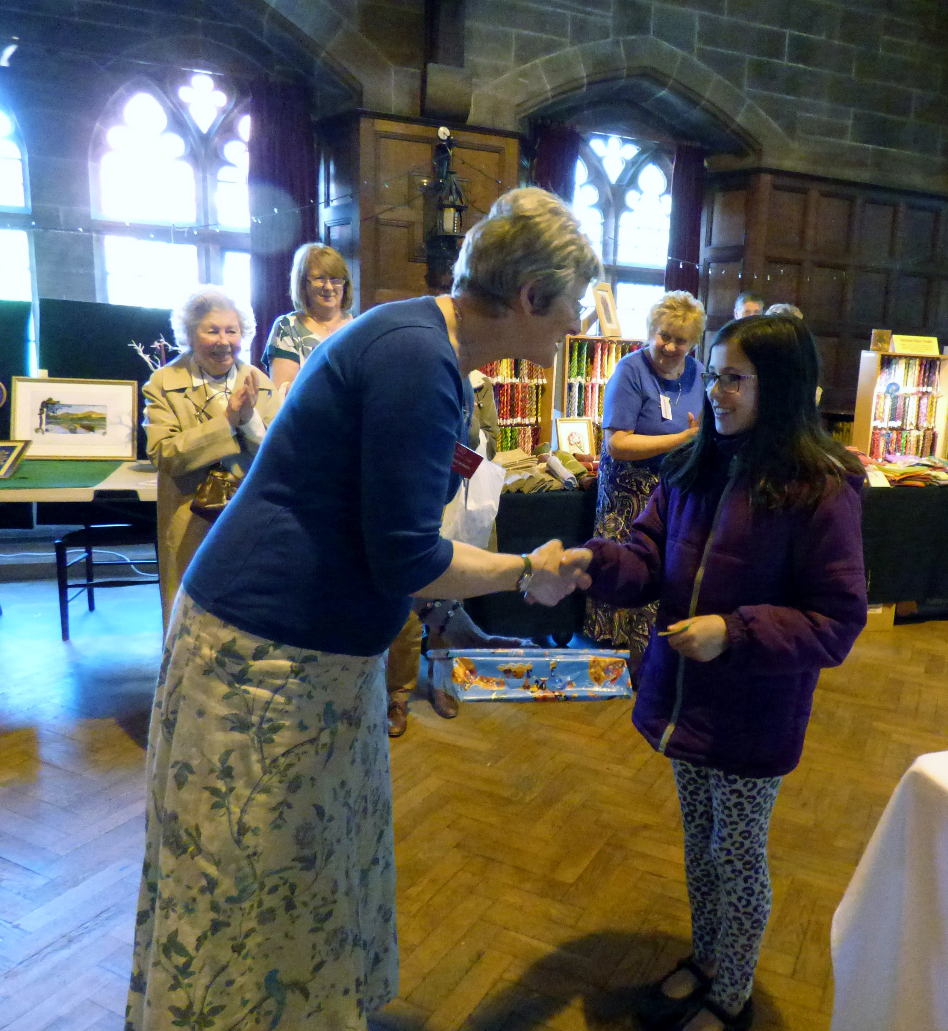 Zoe won First Prize in our YE competition at MEG Summer Tea Party 2016