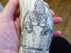 replica scrimshaw shown by Mr Ron Bate of Historical Maritime Society . Oct 2017
