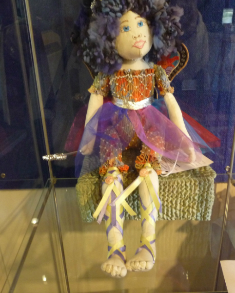 FAIRY QUEEN - TITANNIA by Patricia Jones, smocked basic doll using Liberty lawn