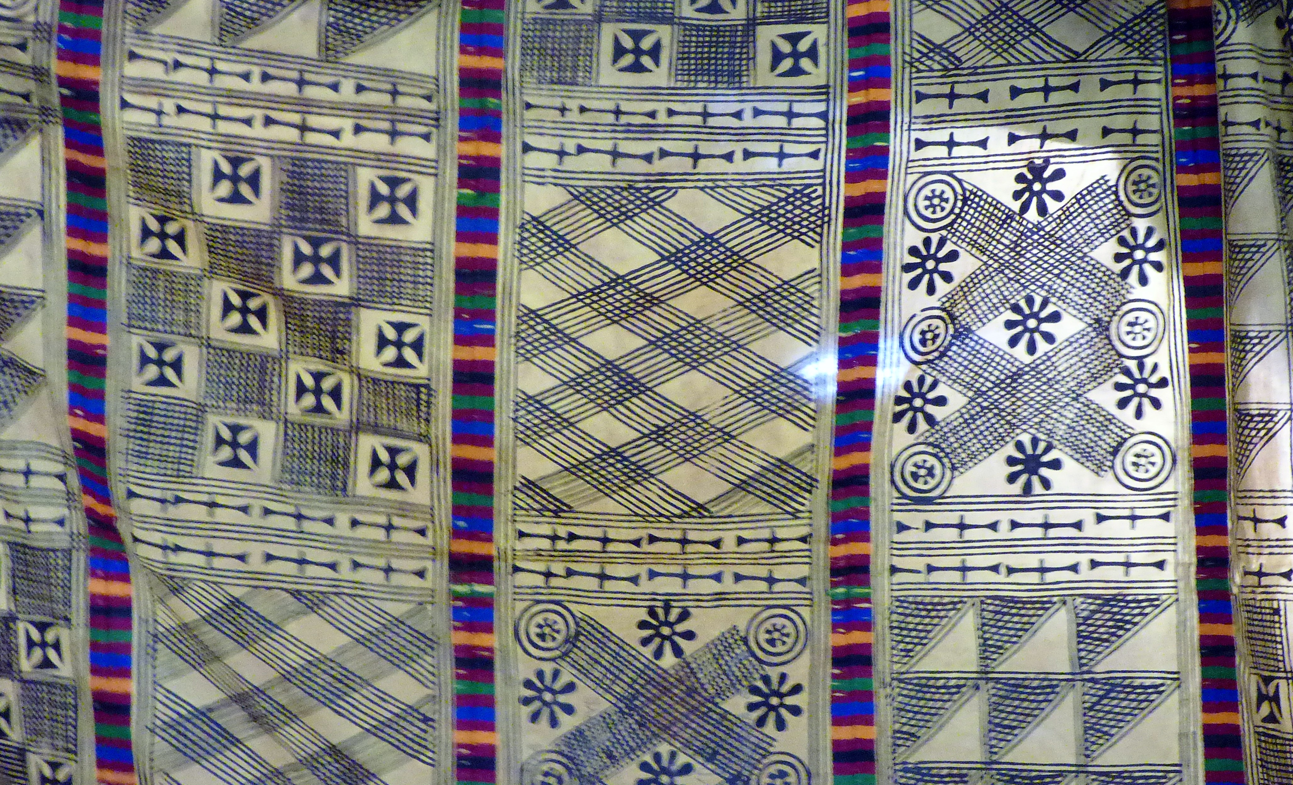 West African cloth shown by Magi Relph