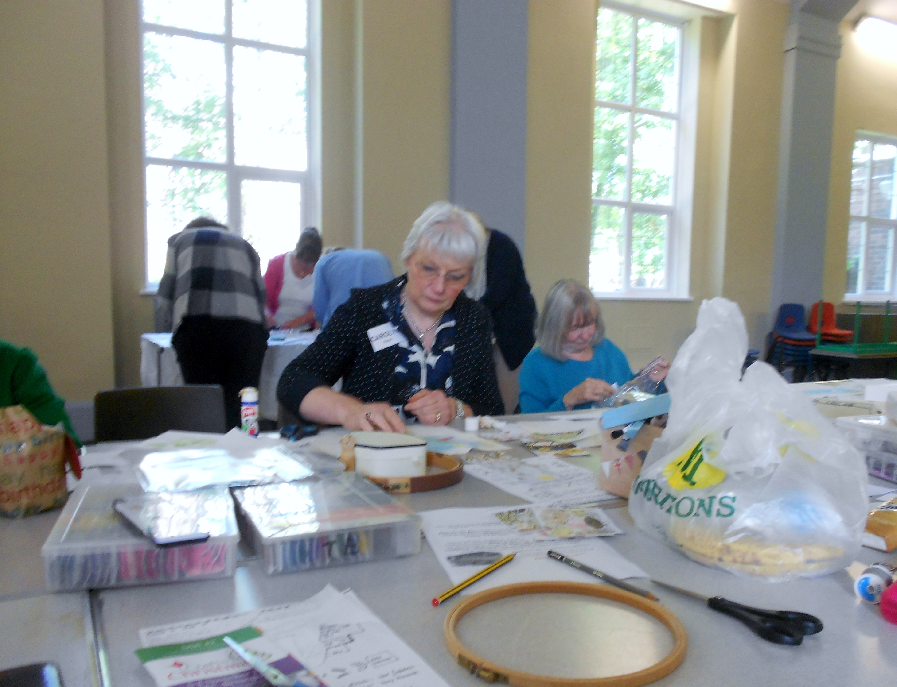 August 2015 WORKSHOP with Janet Vance