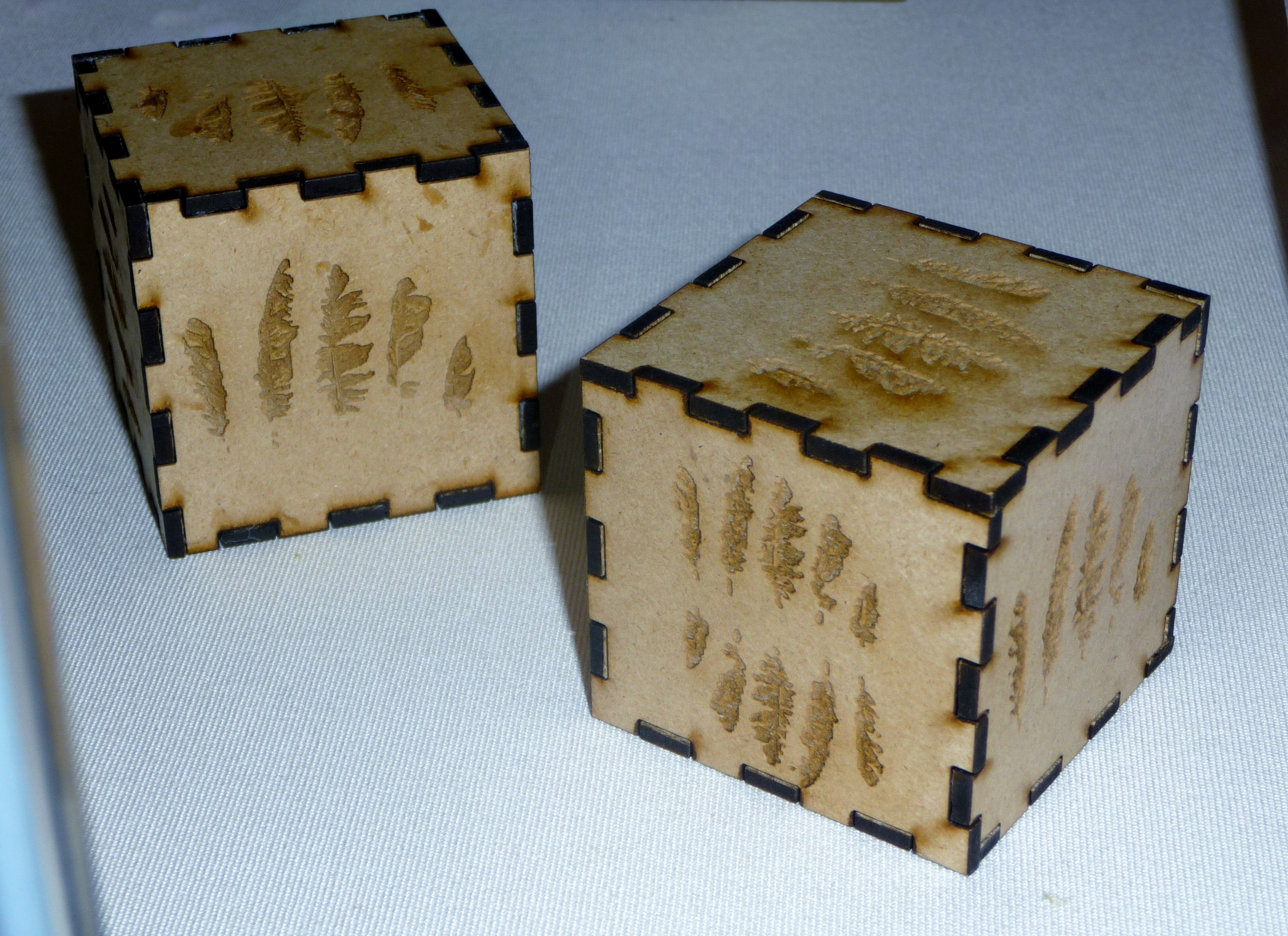 BOXES by Siwan Mair Newcombe, 2014, wood