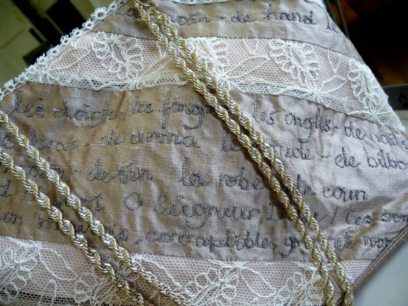 Bag for the Princess of France (detail)