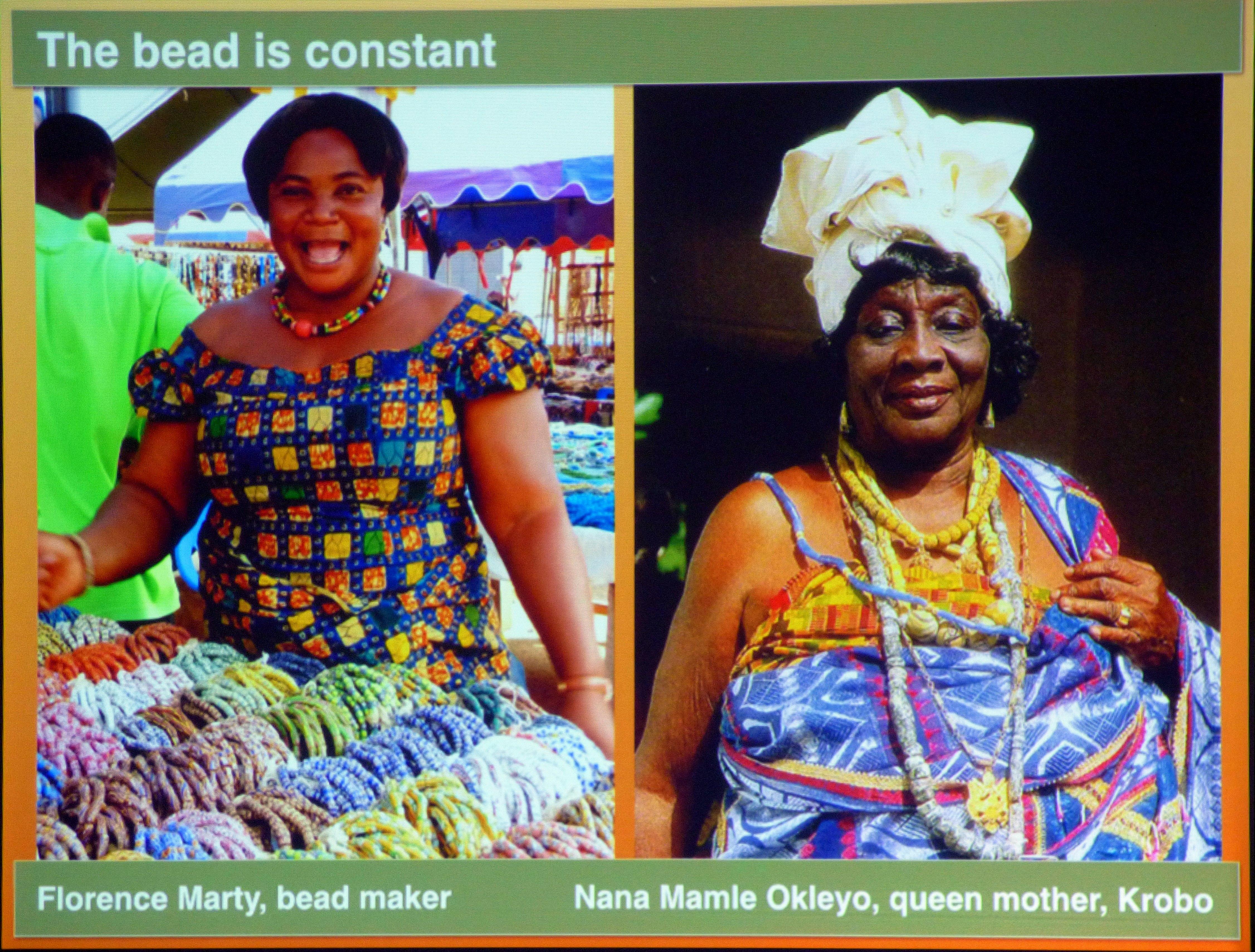 slide by Bob Irwin, Beauty and the Bead Talk 2019