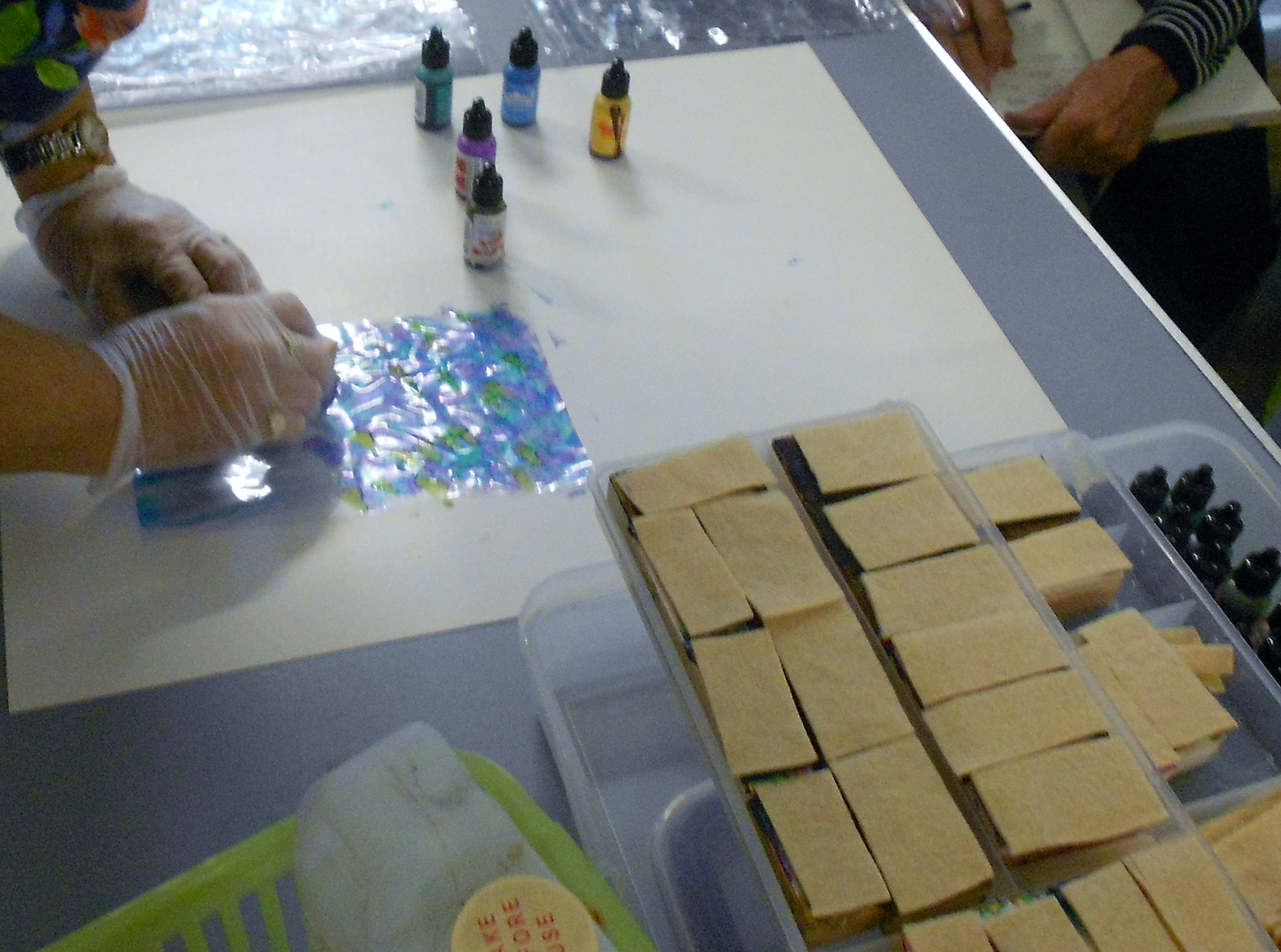 Sue Sercombe tote bag workshop 18.08.18