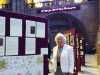 Rubina Porter MBE with the Sreepur ENDEAVOUR quilt 2018