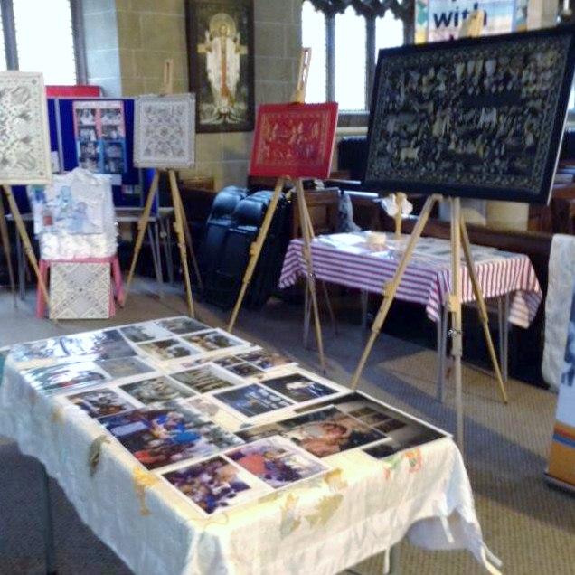 Threading Dreams exhibition, St Barnabus Church, Oct 2018