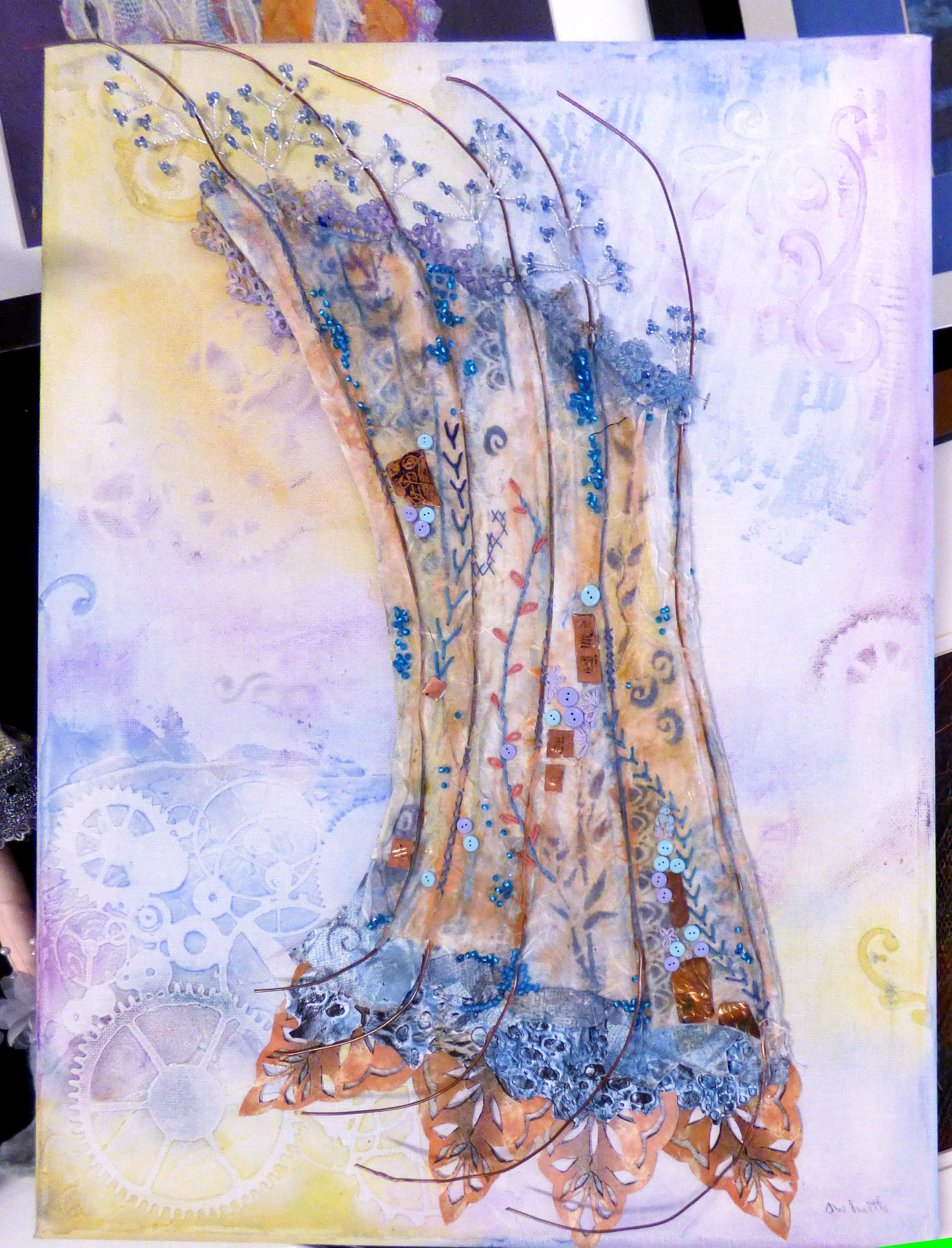 embroidery by Jenny Whittle, Bolton EG 2018