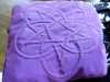 Italian quilted herb pillow by Eileen Pepper, Bolton EG