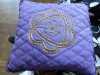 goldwork herb pillow by Eileen Pepper, Bolton EG