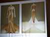slide showing silk satin wedding dress by Charles James, London 1934