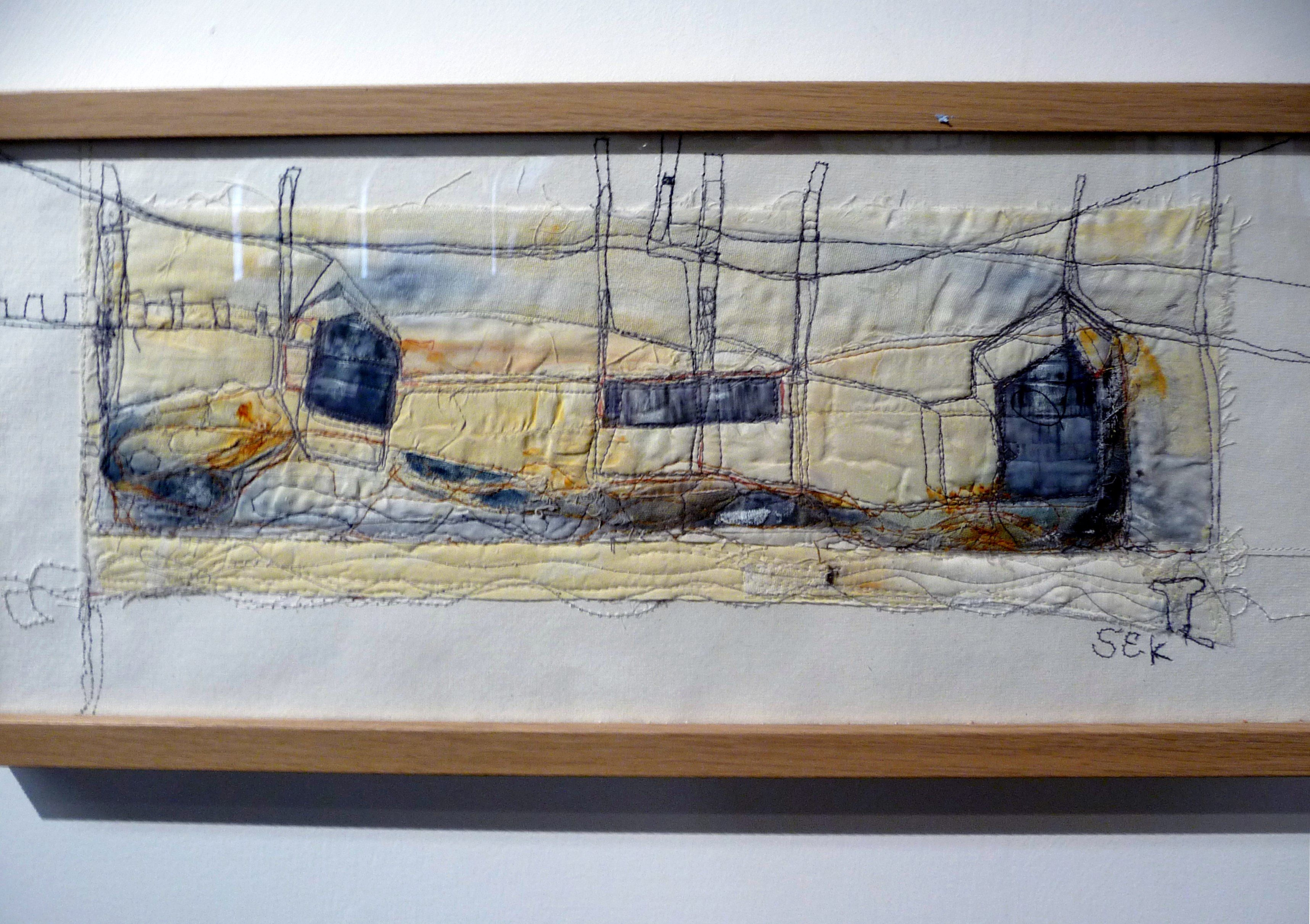 2RIVERS by Steph Estall-Knight of FLOWN group, mixed media
