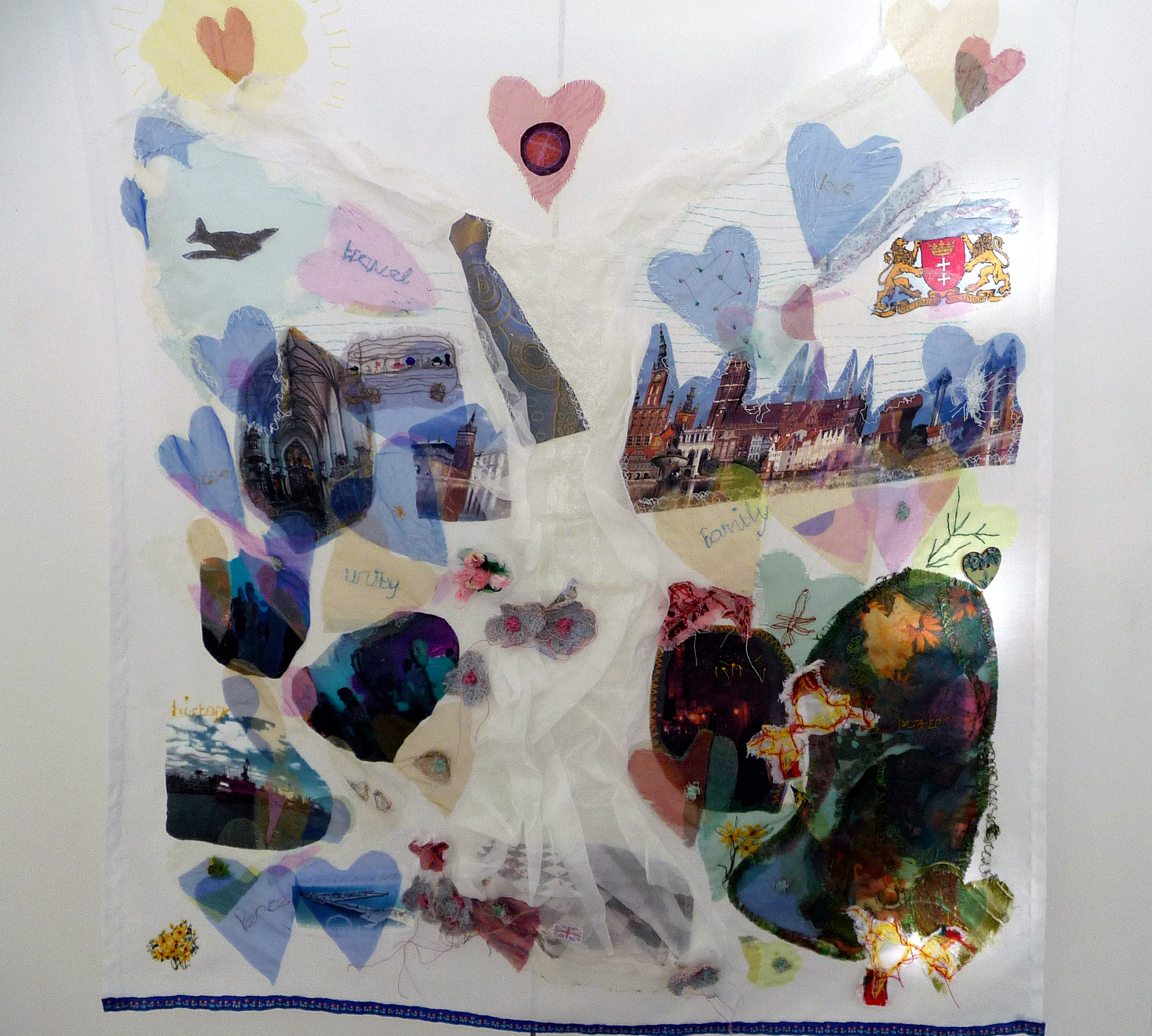 THE STORY by Yvonne Deegan, mixed media