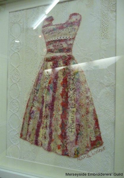 "\""Red Silk Dress\"" by Maria Walker"