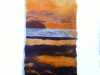 FELTED SUNSET by Ronny White
