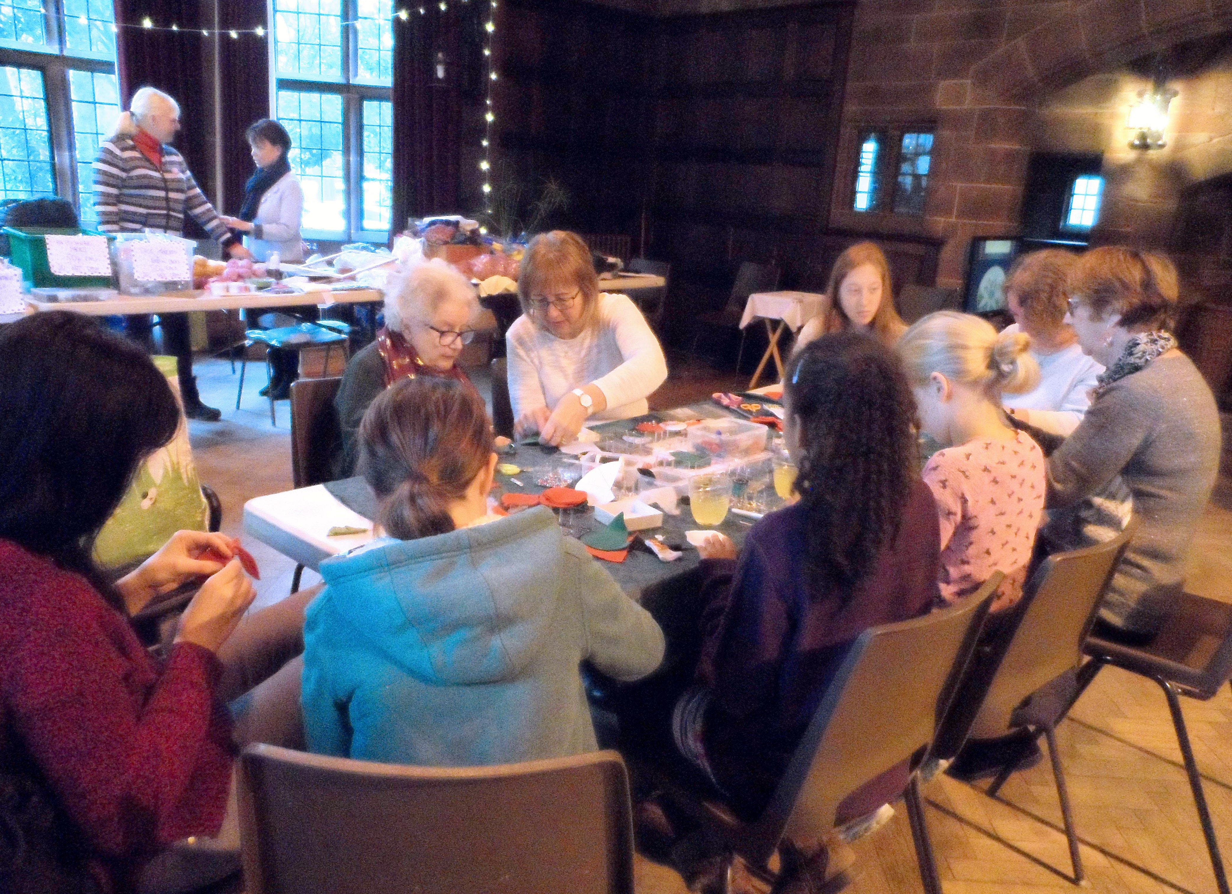 Michele's Christmas Decoration workshop, Christmas Fun Day 2018