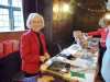 Kathy with the Sreepur Stall, Christmas Fun Day 2018