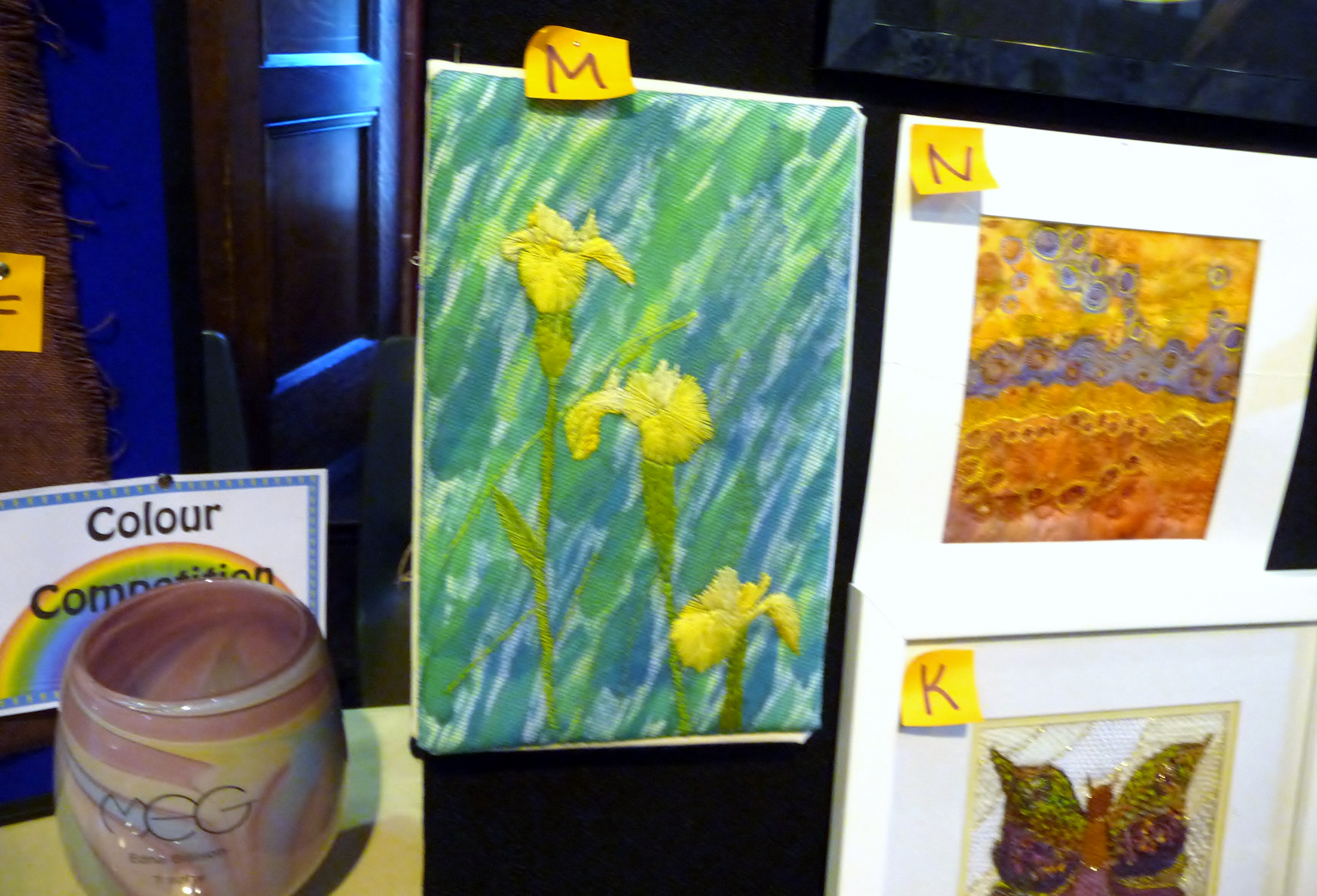 some of the entries to MEG Colour Competition 2015 and Edna Billiston Trophy