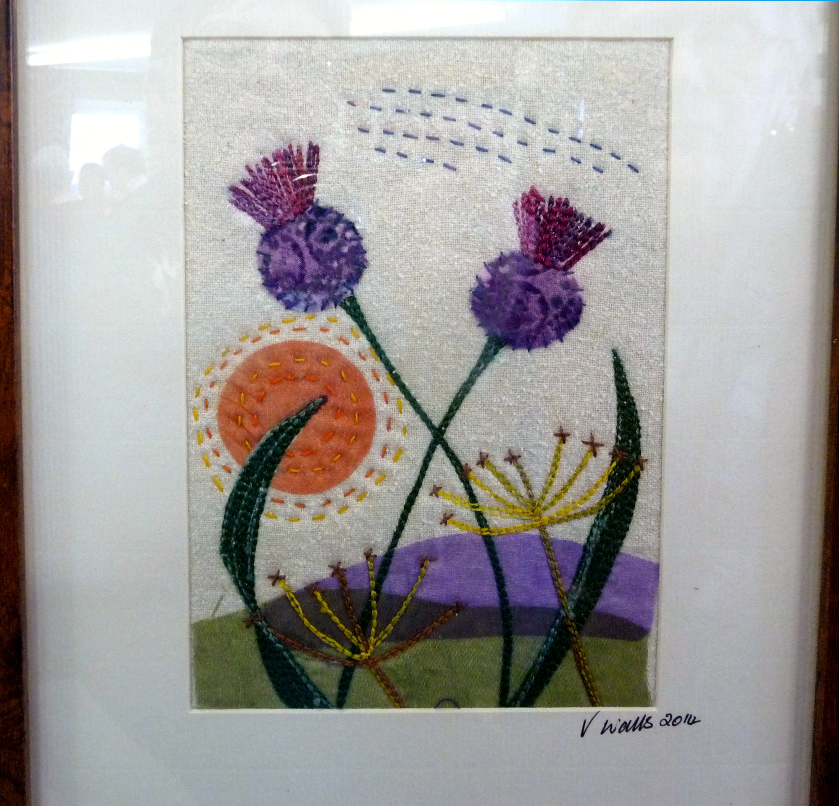 KNAPWEED by Val Walls