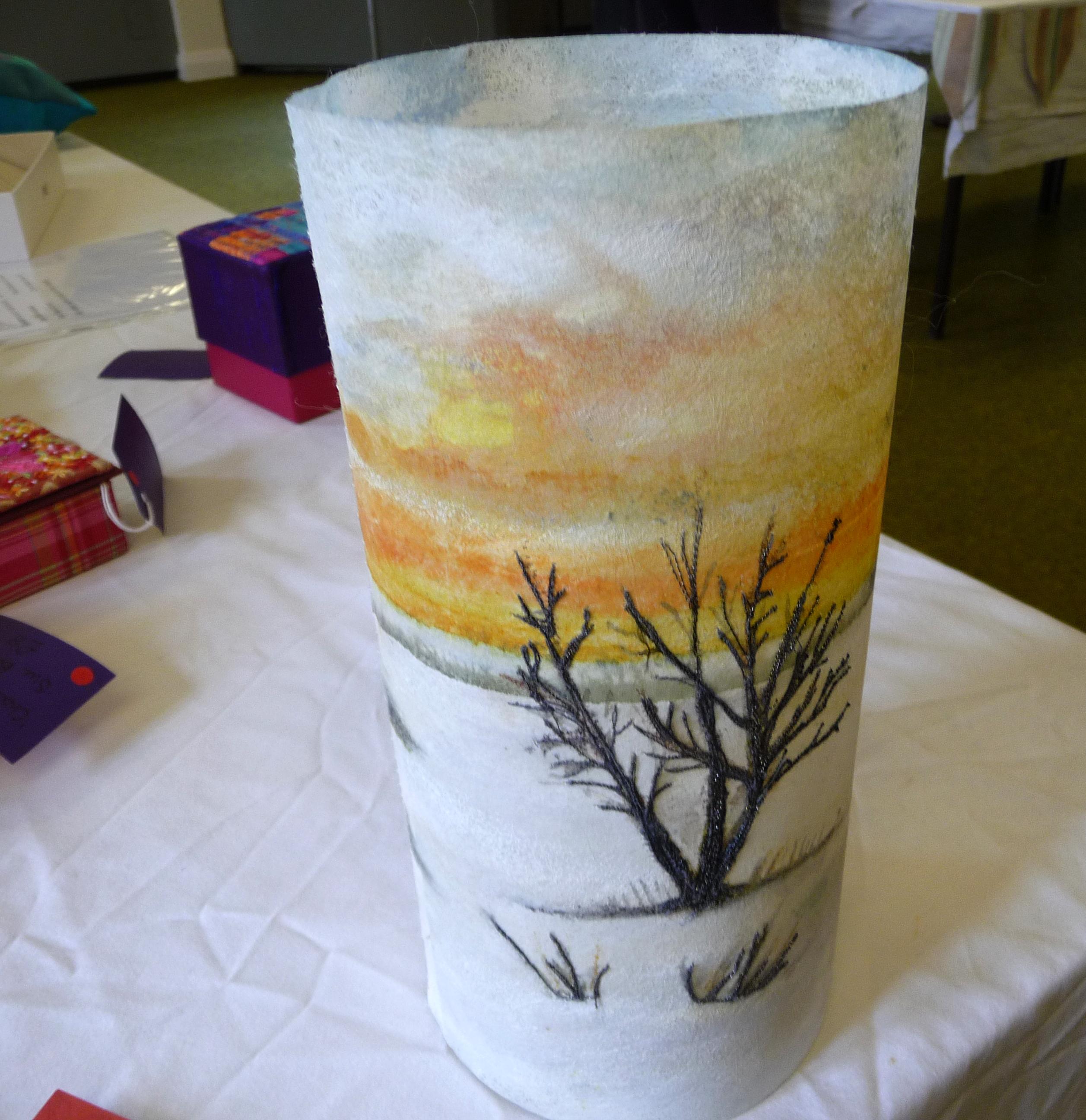 TEA LIGHT SHADE by Janet Vance