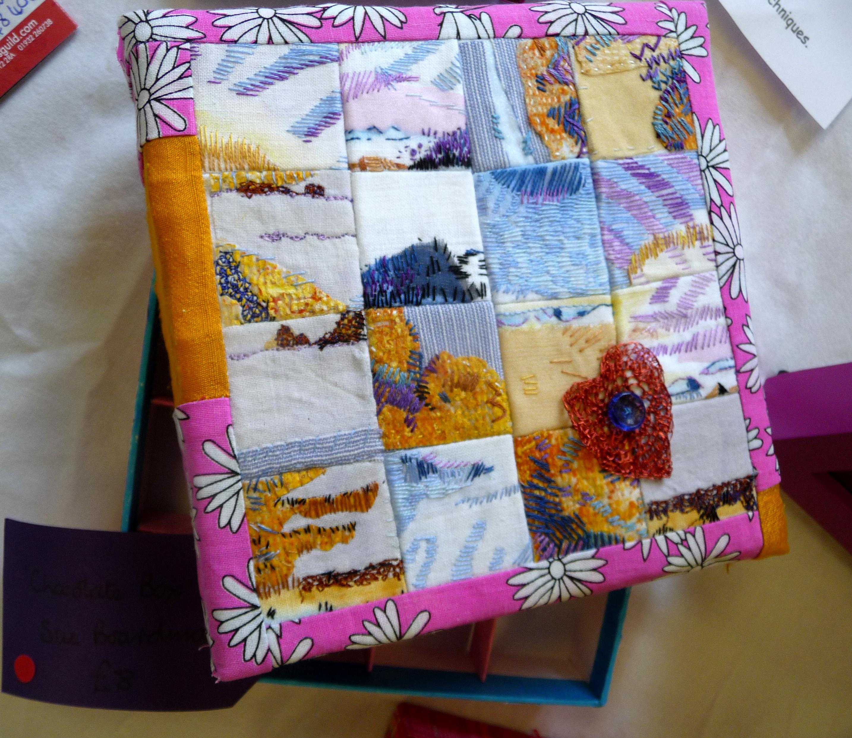 CHOCOLATE BOX by Sue Boardman