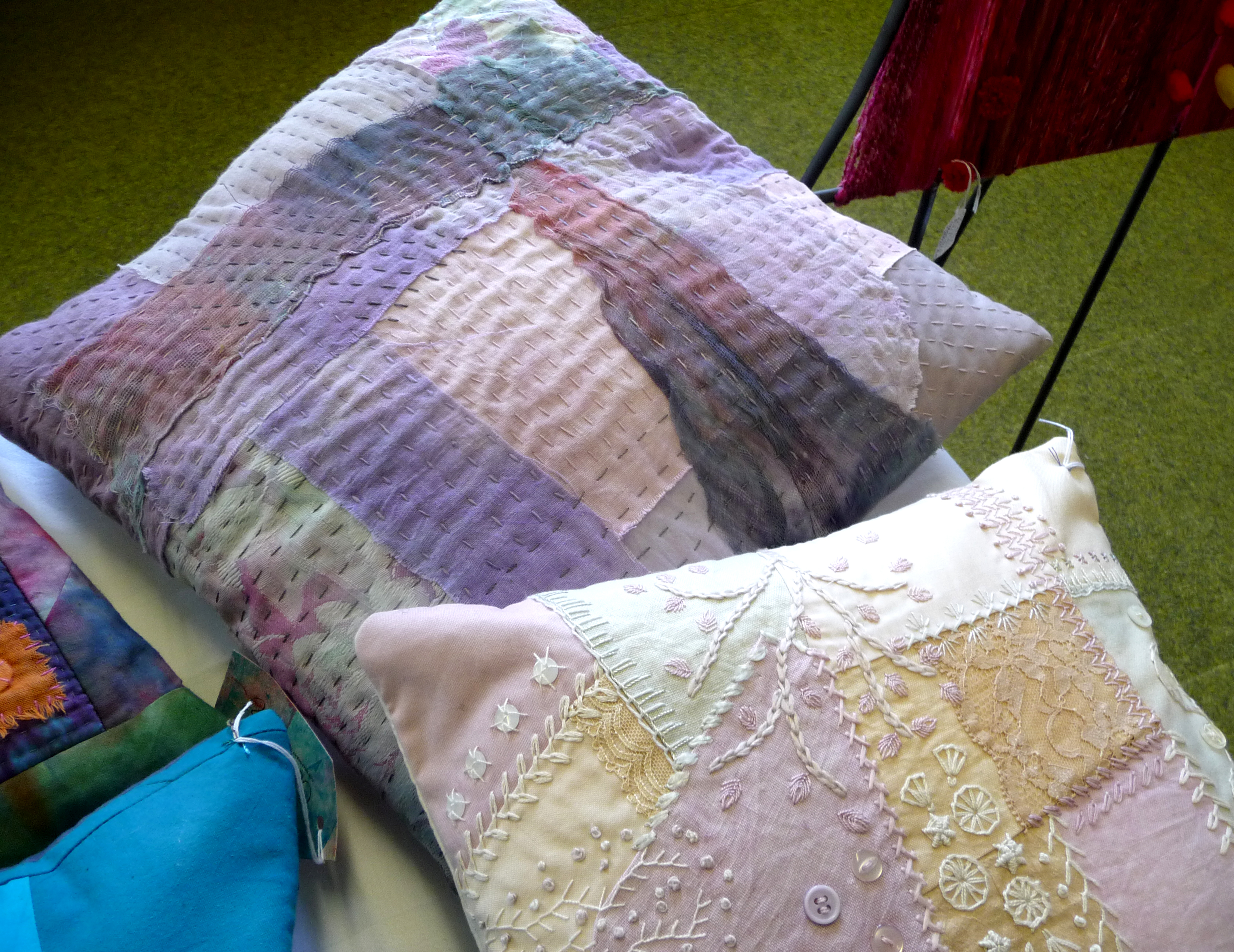 embroidered cushions by CONTEXT 2014