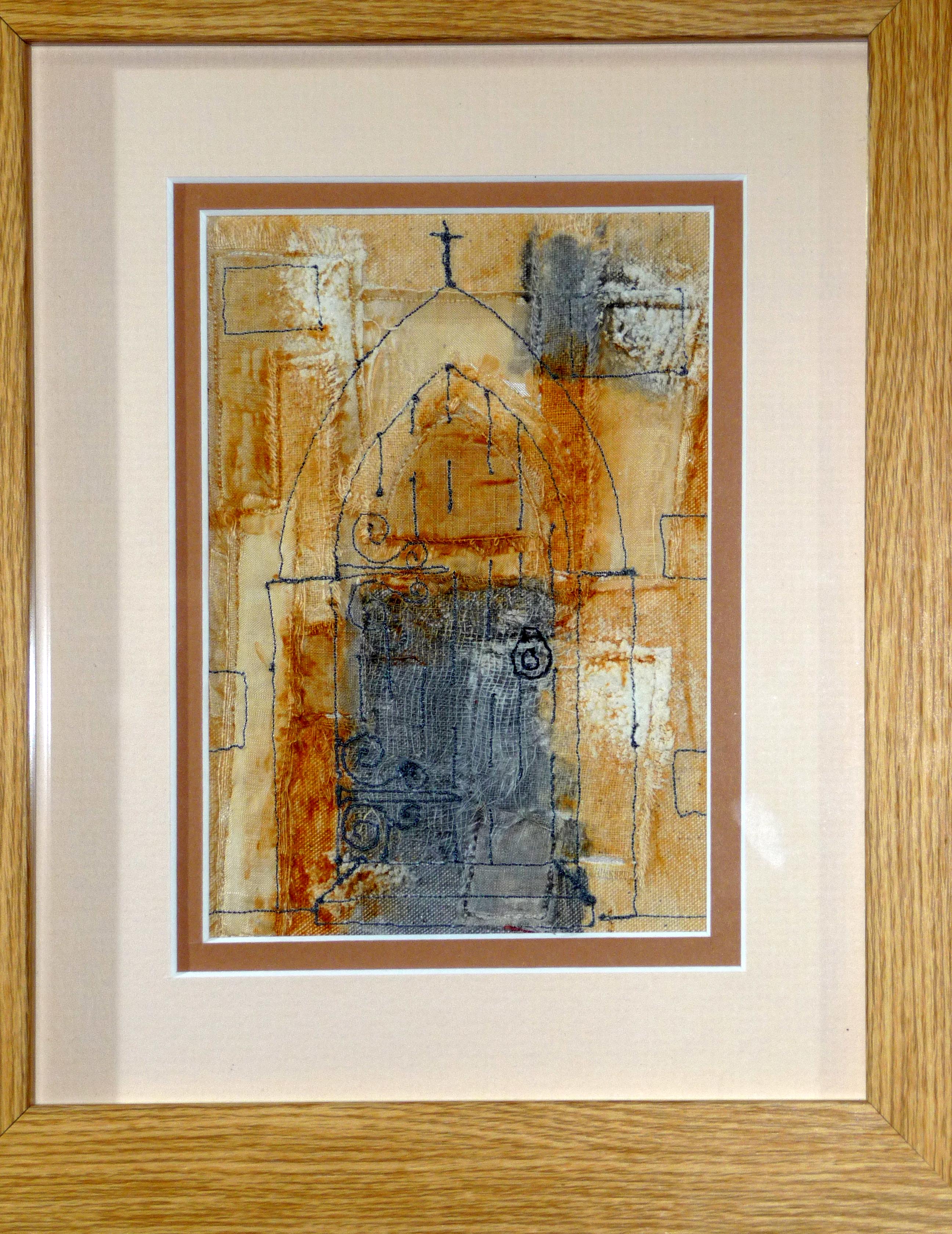 SARAH'S SAMPLE by Sarah Rakestraw, free machine embroidery