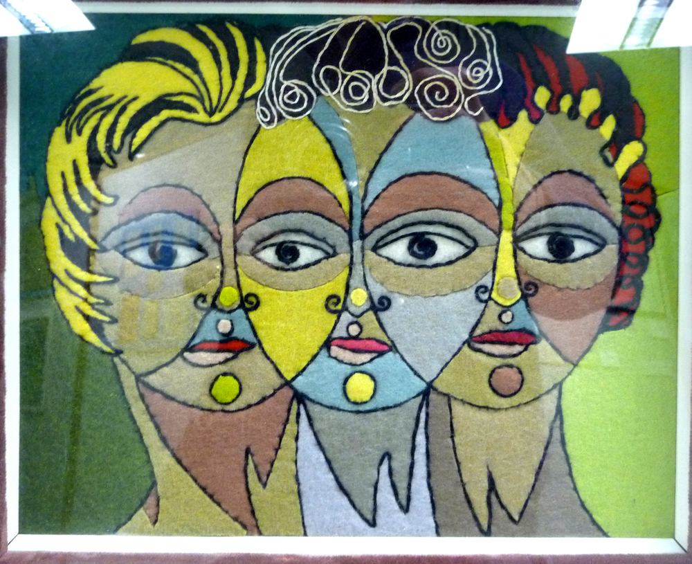 Three Faces of Eve by Mary Rhodes, 1956