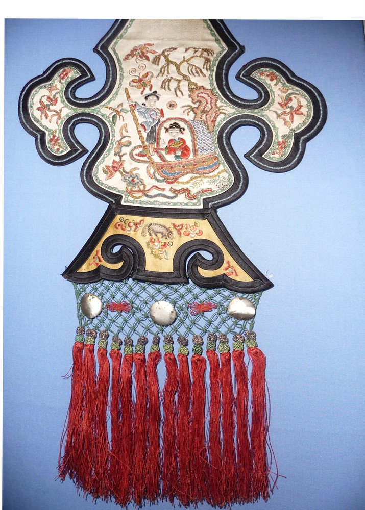 Motif with tassels, China 19th century