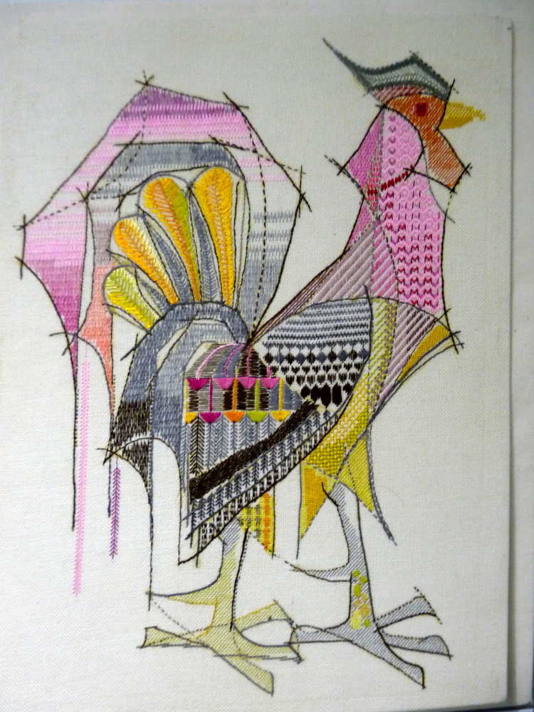 Cockeral by Alison Liley, 1962