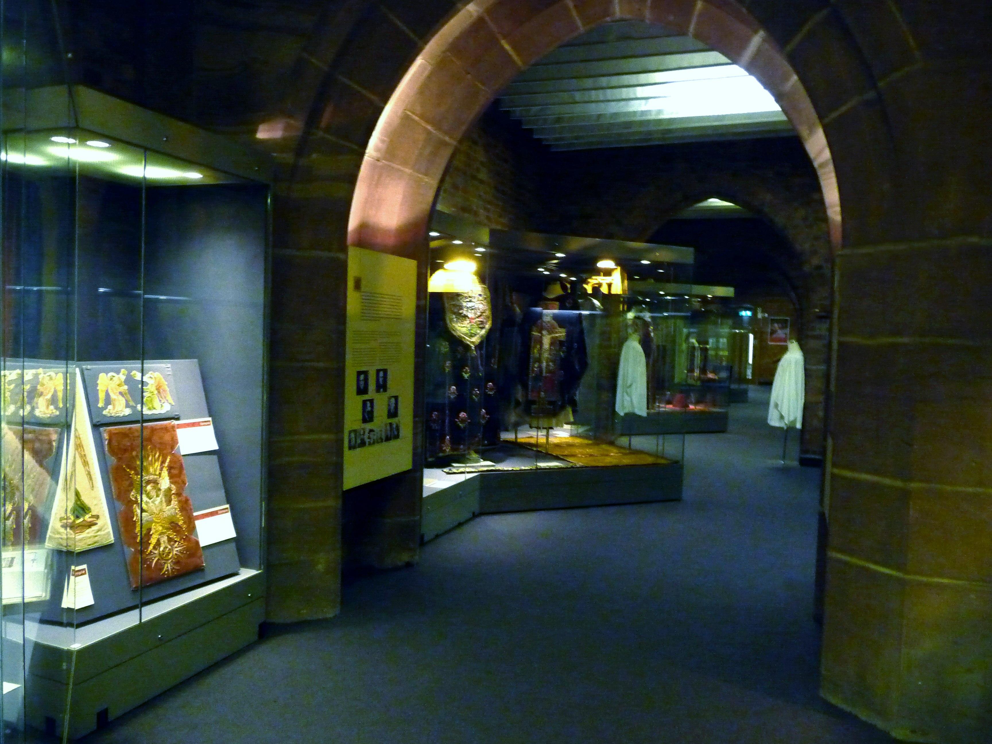 interior of Elizabeth Hoare Gallery, Liverpool Cathedral